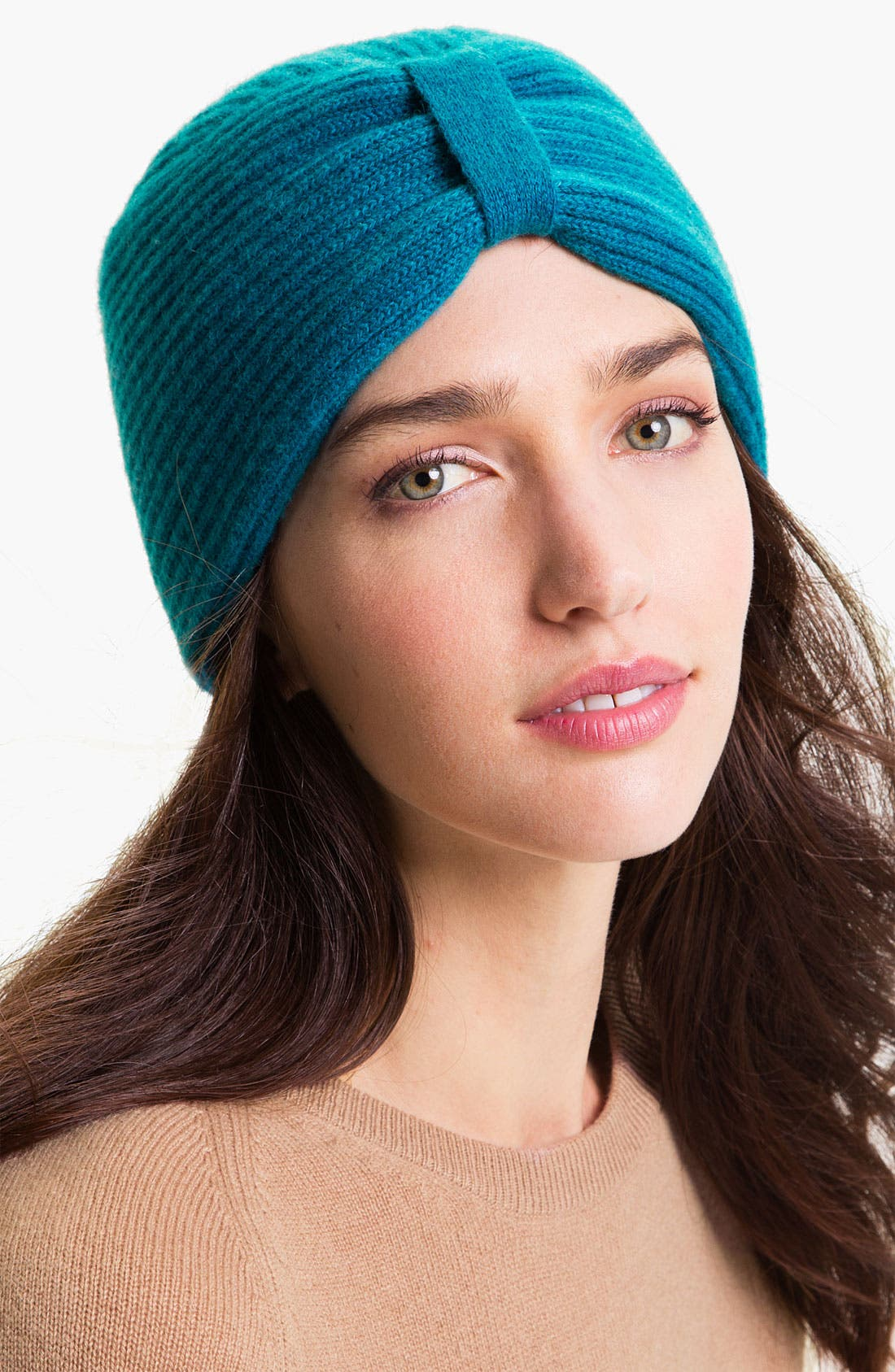 Alternate Image 1 Selected - Laundry by Shelli Segal Wool Turban