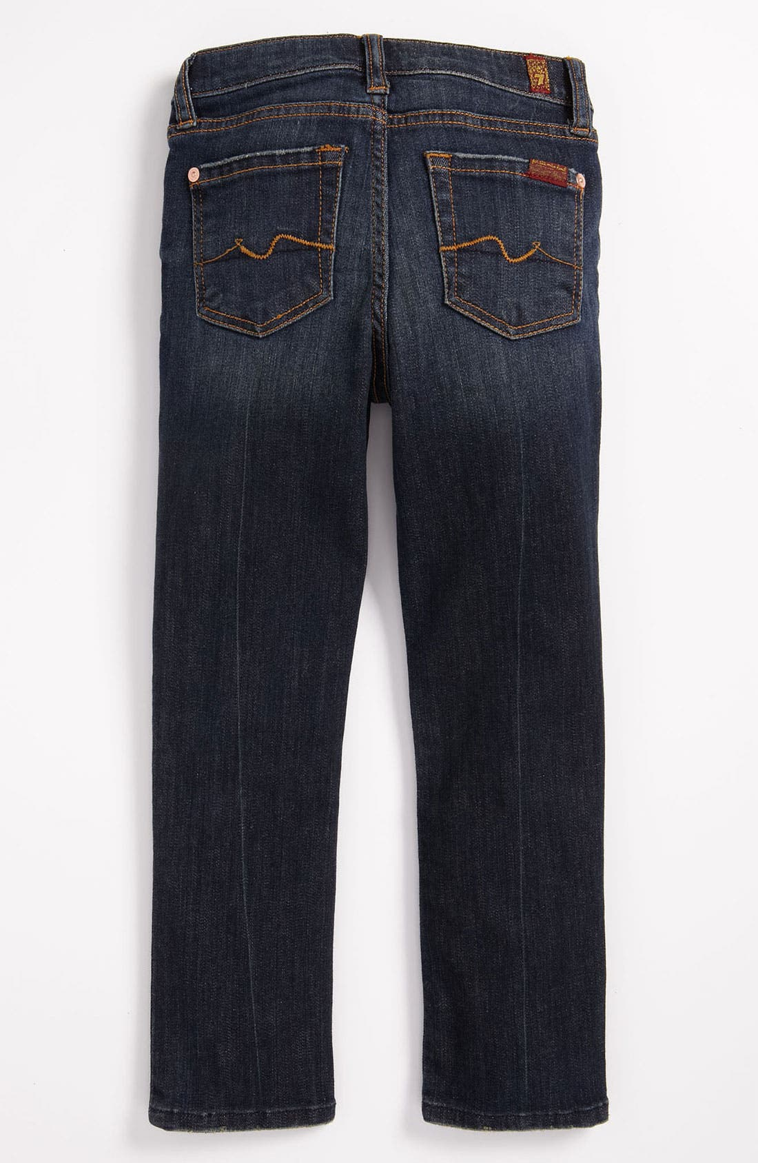 Main Image - 7 For All Mankind® 'Roxanne' Skinny Jeans (Little Girls)