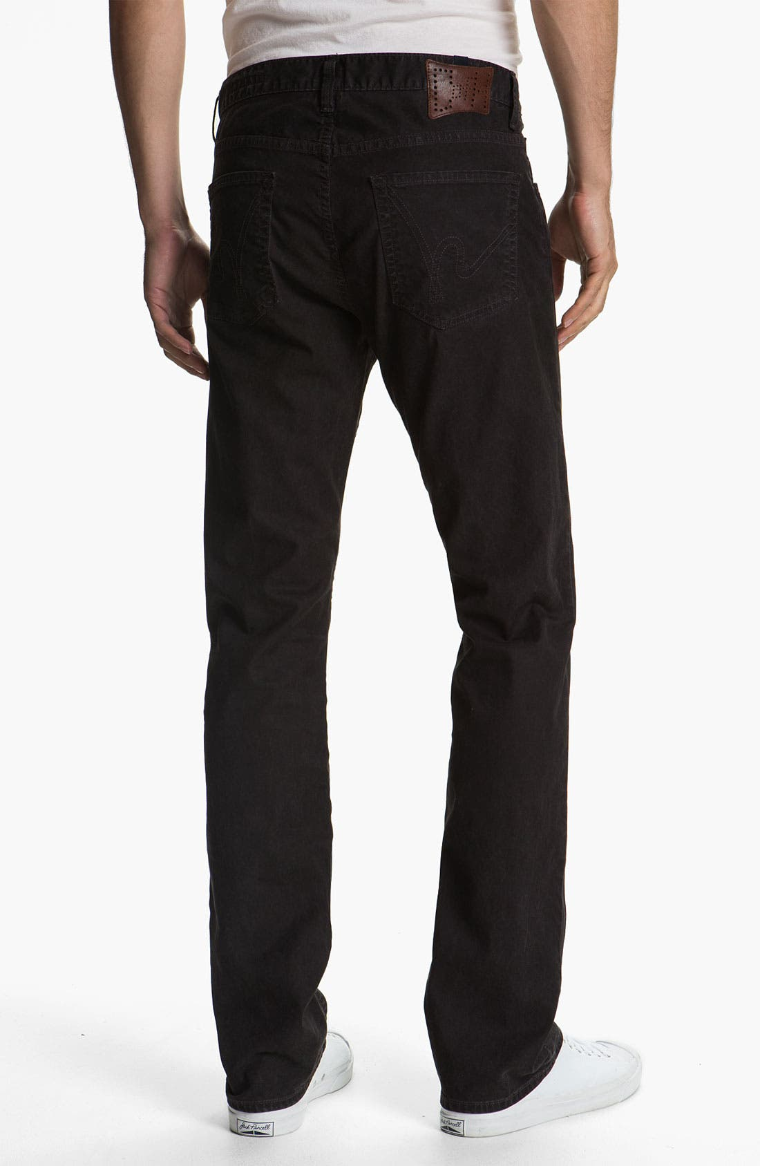 Alternate Image 2  - Citizens of Humanity 'Sid' Straight Leg Twill Pants