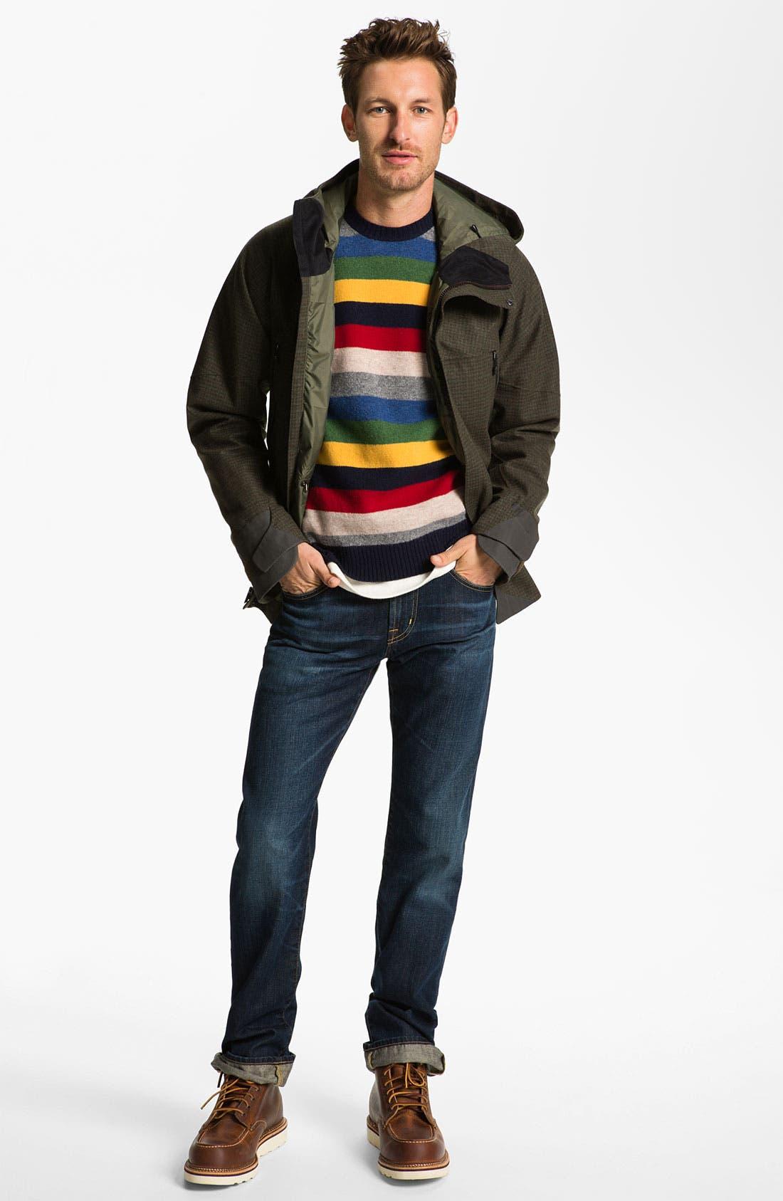 Alternate Image 4  - Brooks Brothers Wool Crewneck Sweater