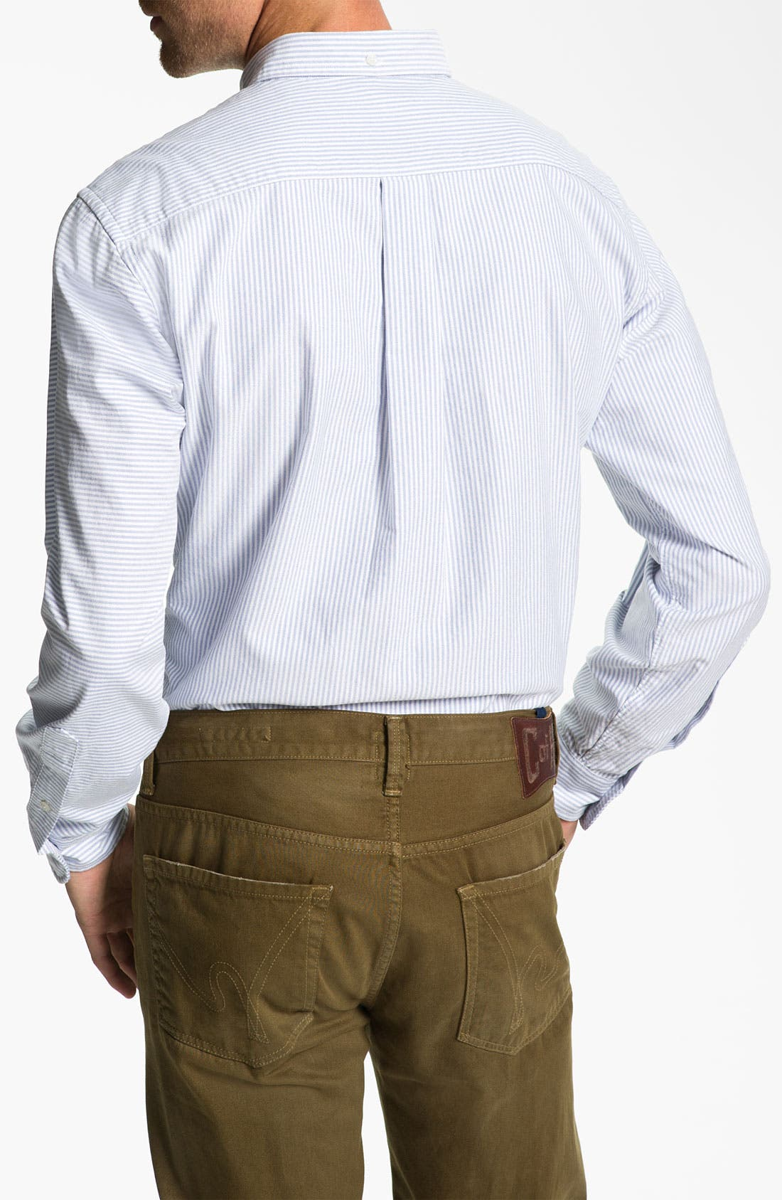 Alternate Image 2  - Brooks Brothers Slim Fit Sport Shirt