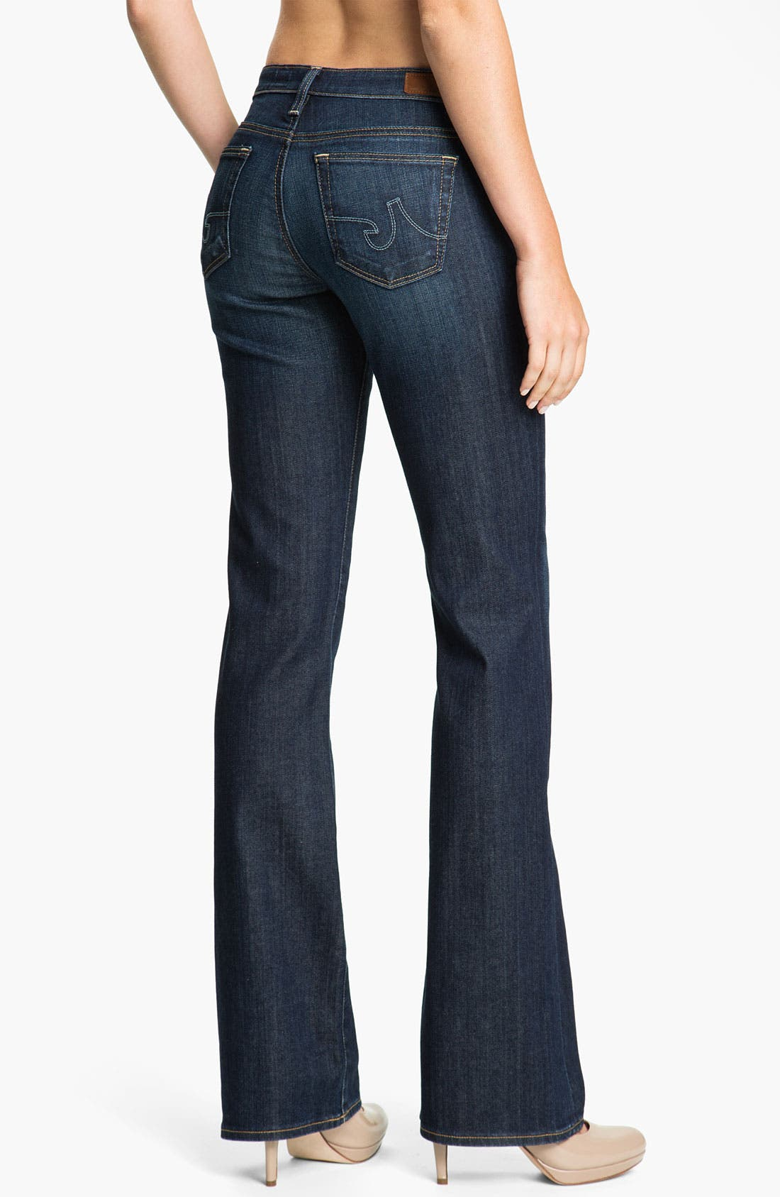 Alternate Image 2  - AG Jeans 'Angel' Bootcut Stretch Denim Jeans (Astrid)