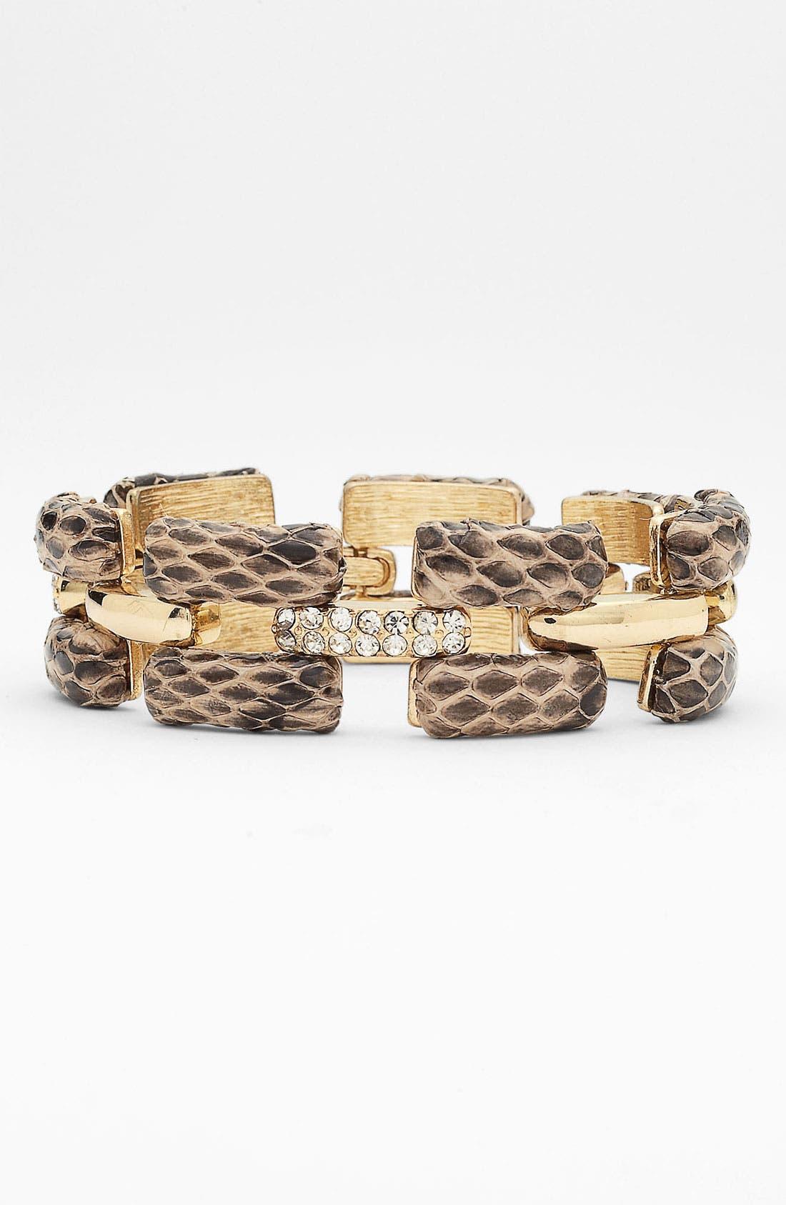 Alternate Image 1 Selected - Anne Klein Link Line Bracelet