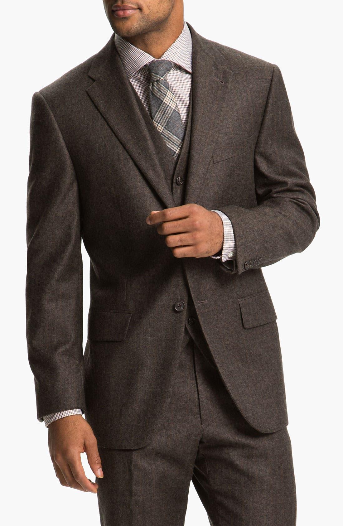 Alternate Image 1 Selected - Joseph Abboud Three Piece Suit