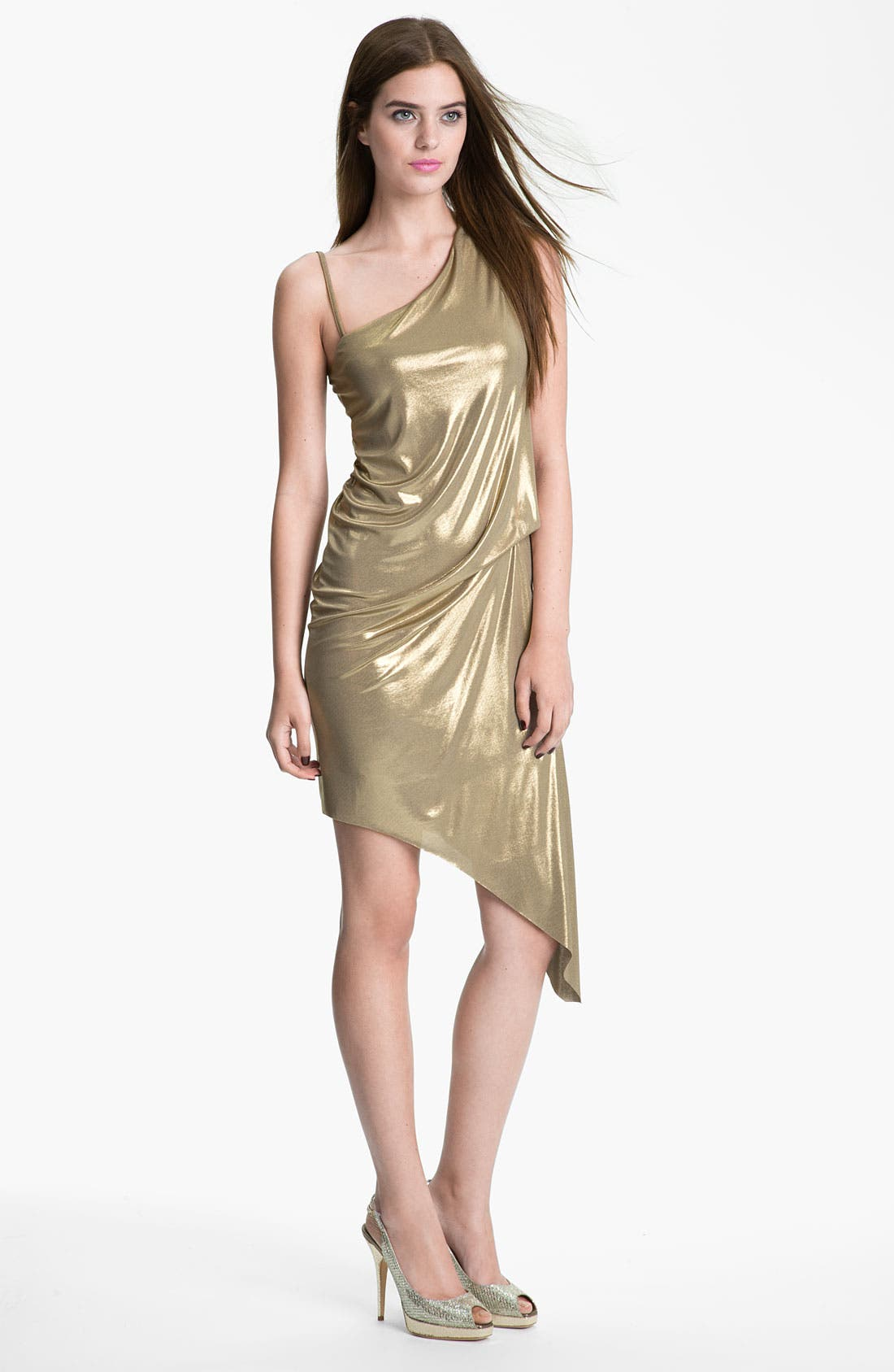 Main Image - Bailey 44 Metallic One-Shoulder Dress