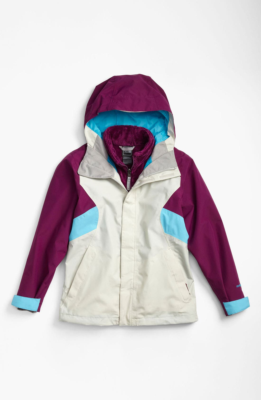 Alternate Image 1 Selected - The North Face 'Fallon' TriClimate® 3-in-1 Jacket (Big Girls)