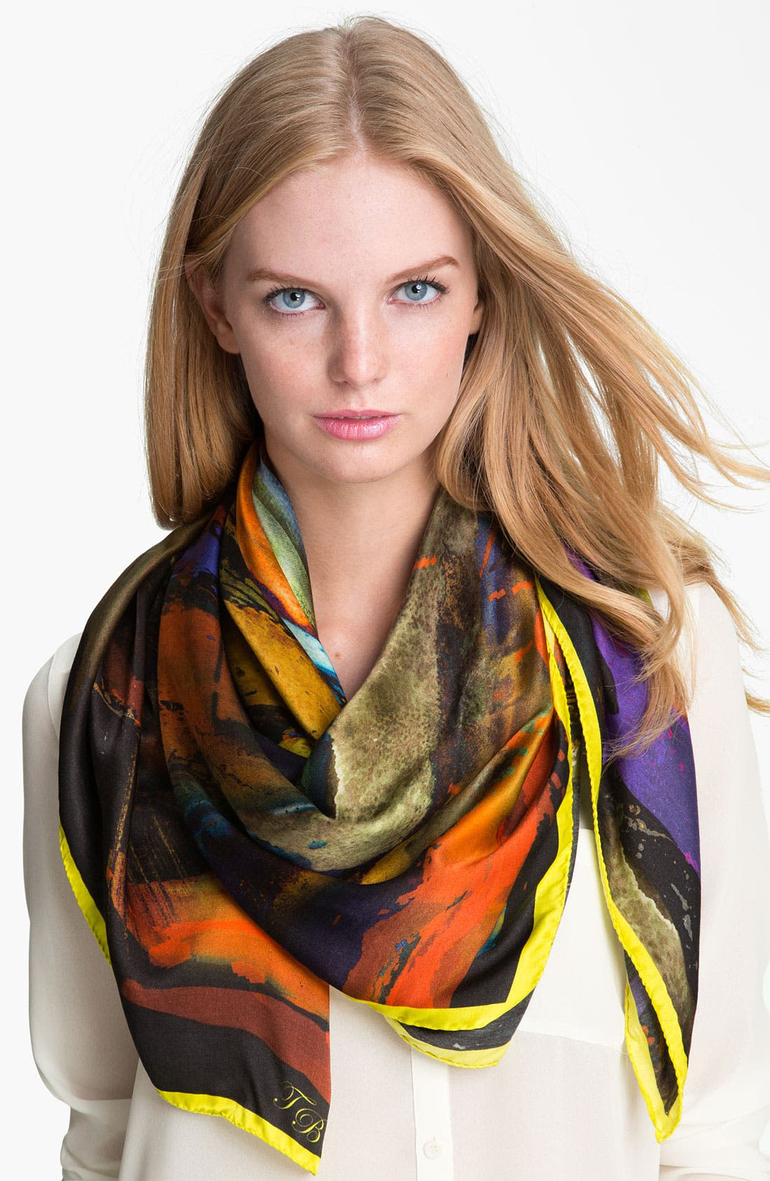 Alternate Image 1 Selected - Ted Baker London 'Arists Palette' Silk Scarf