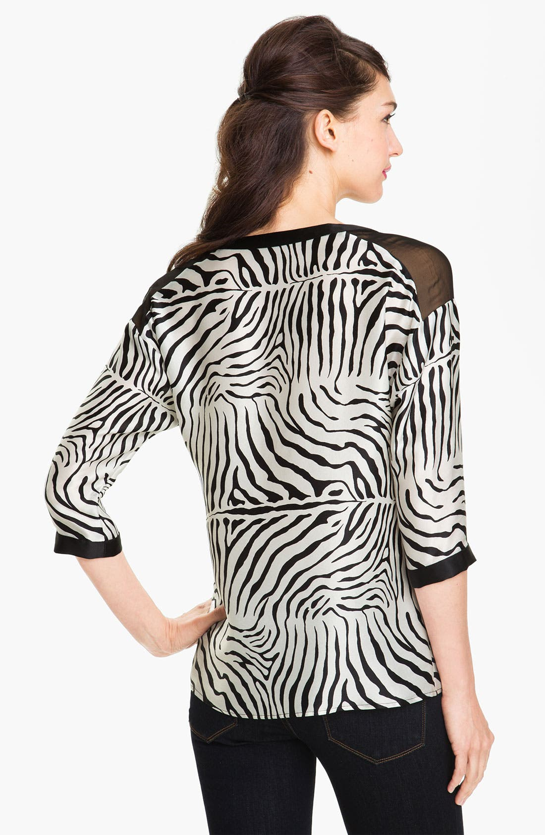 Alternate Image 2  - Nanette Lepore 'McCov' Silk Top