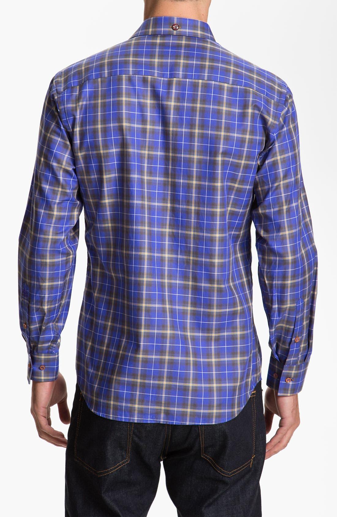 Alternate Image 2  - Stone Rose Woven Shirt