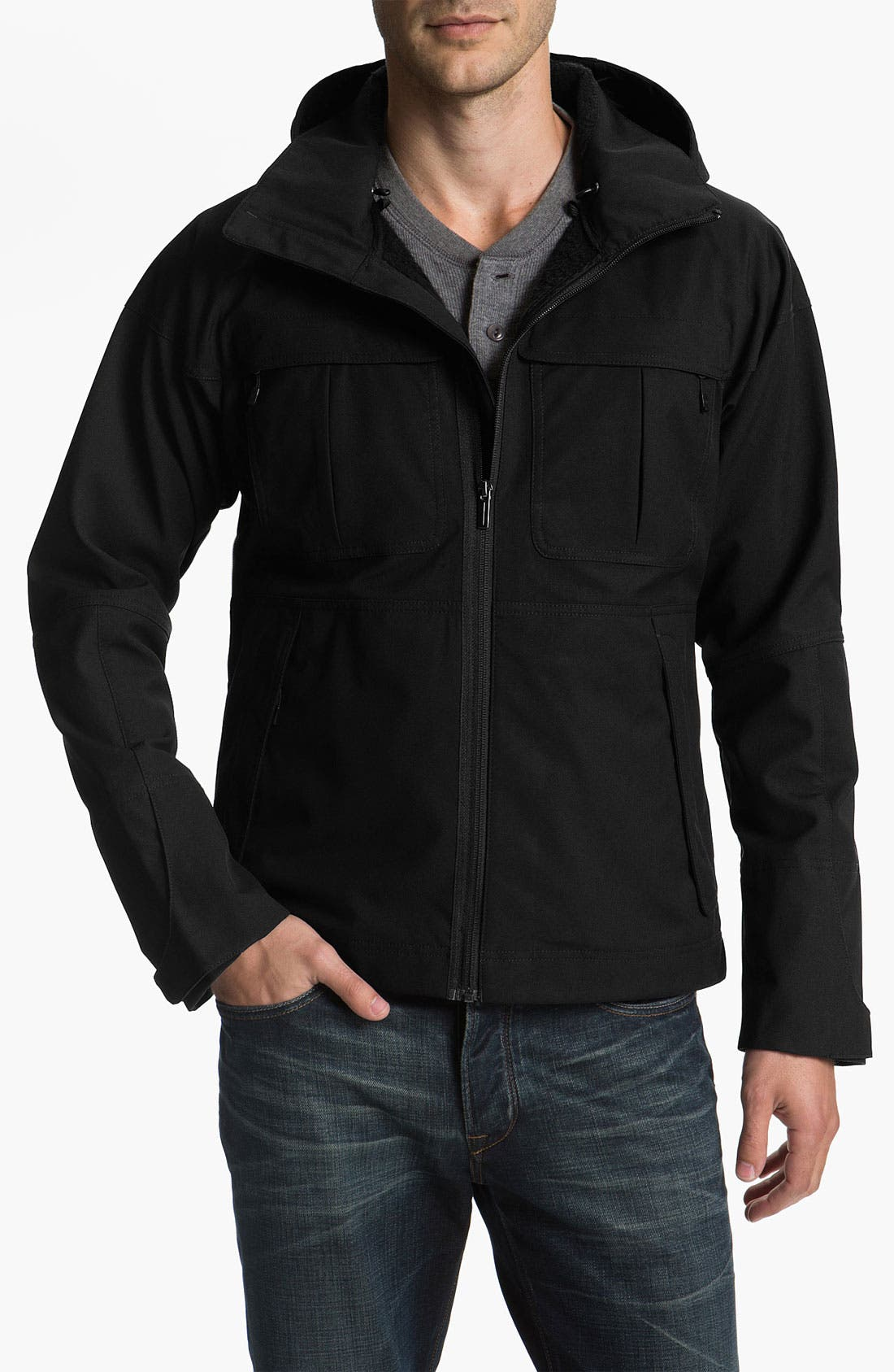Alternate Image 1 Selected - Nau 'Shroud of Purrin' Hooded Jacket