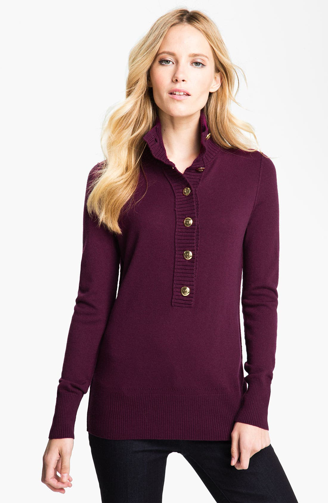 Alternate Image 1 Selected - Tory Burch 'Audra' Sweater