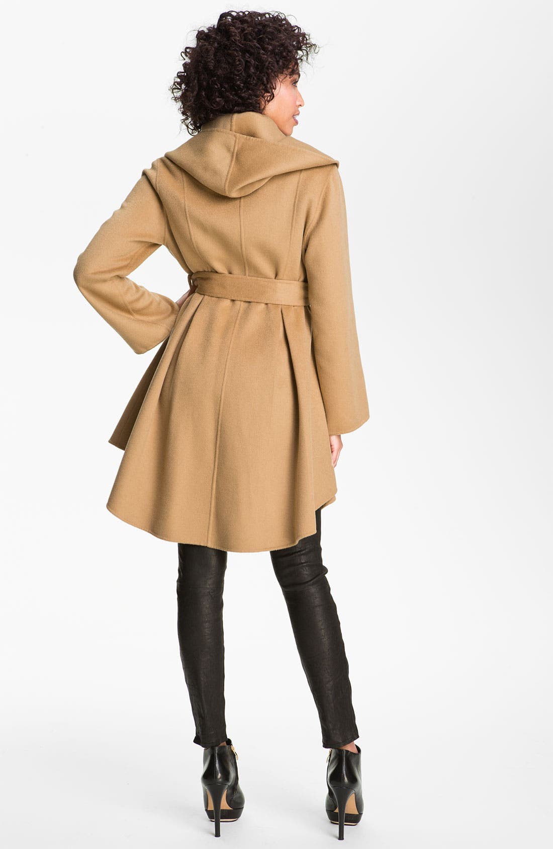 Alternate Image 2  - Dawn Levy Wool & Cashmere Wrap Coat (Online Exclusive)