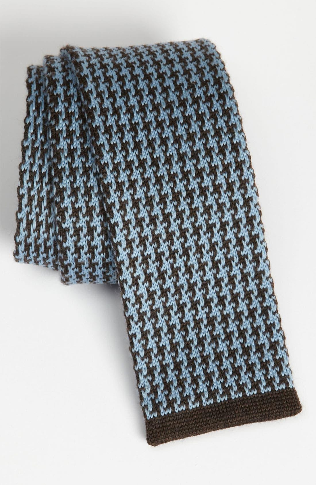 Main Image - Samuelsohn Knit Wool Tie