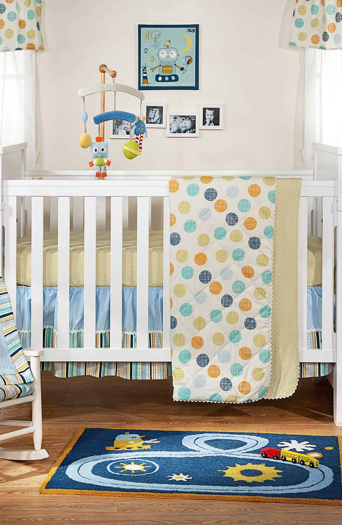 Alternate Image 2  - Living Textiles Velour Blanket