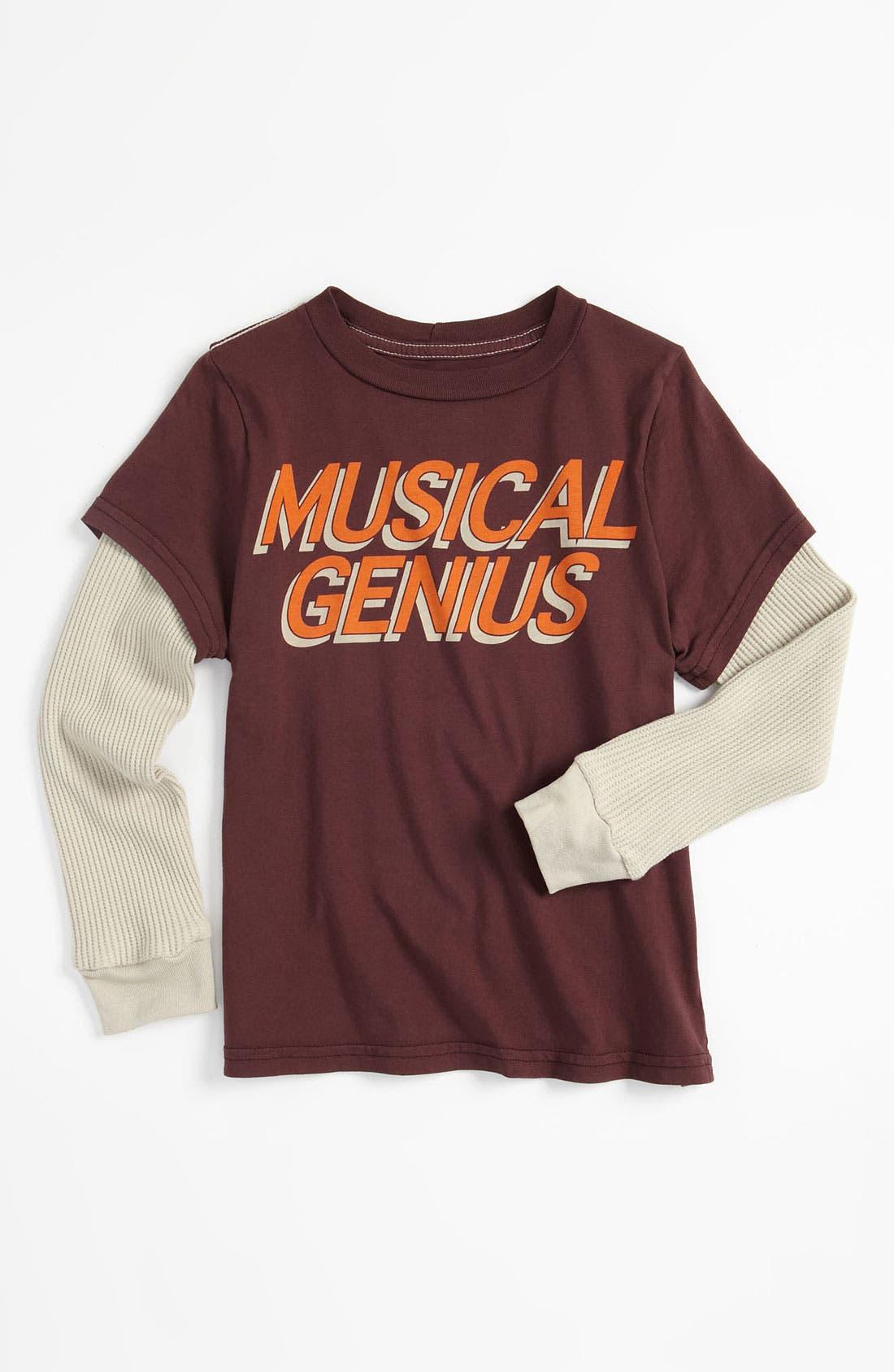 Main Image - Peek 'Musical Genius' T-Shirt (Toddler, Little Boys & Big Boys)