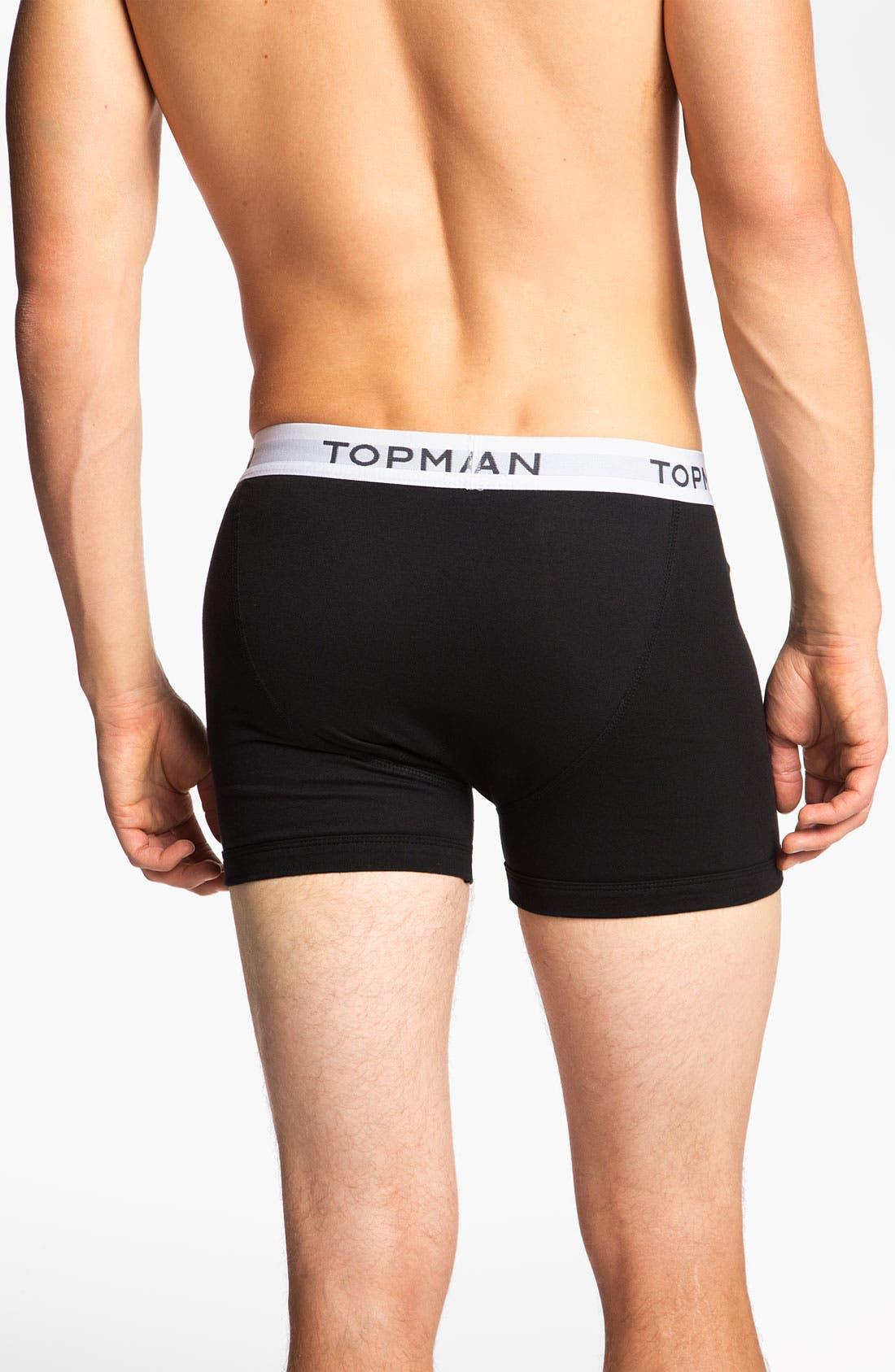 Alternate Image 3  - Topman Boxer Briefs (3-Pack)