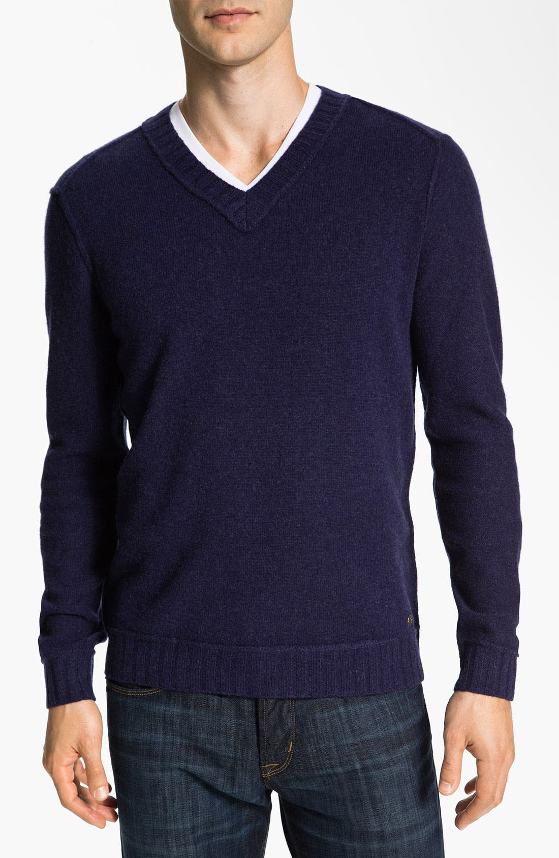 Alternate Image 1 Selected - BOSS Orange 'Kamil' V-Neck Sweater