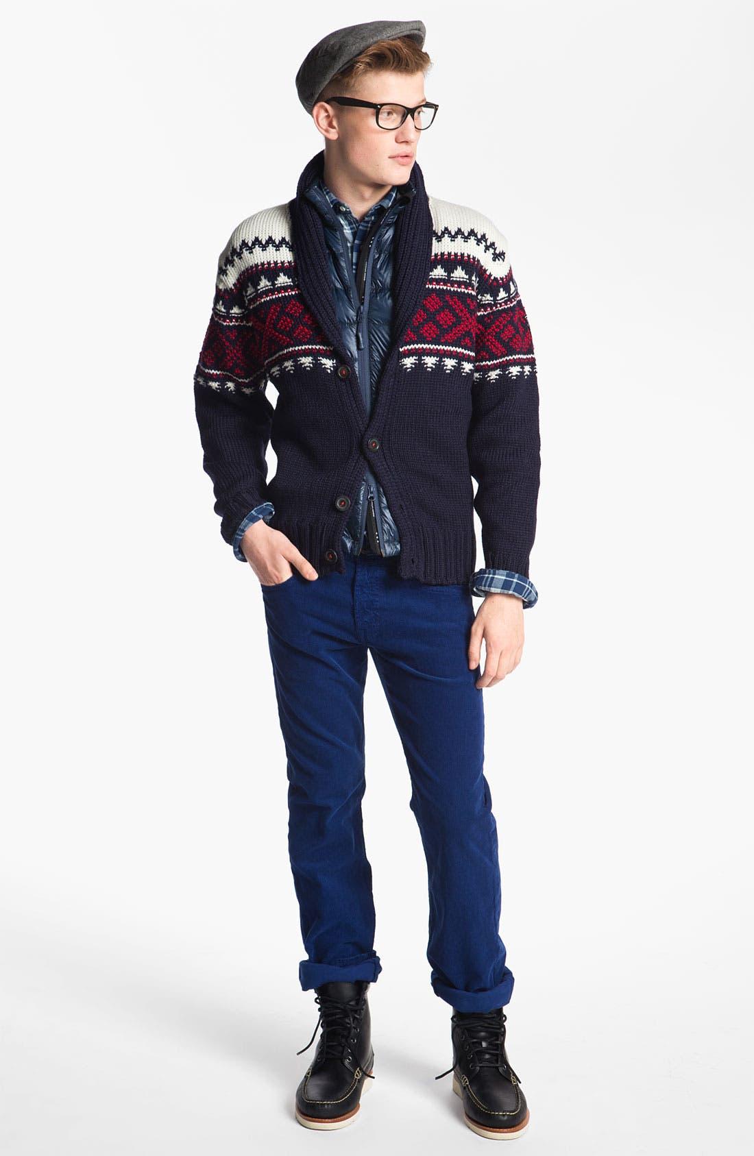 Alternate Image 4  - Gant Rugger 'The Hugger' Check Woven Shirt