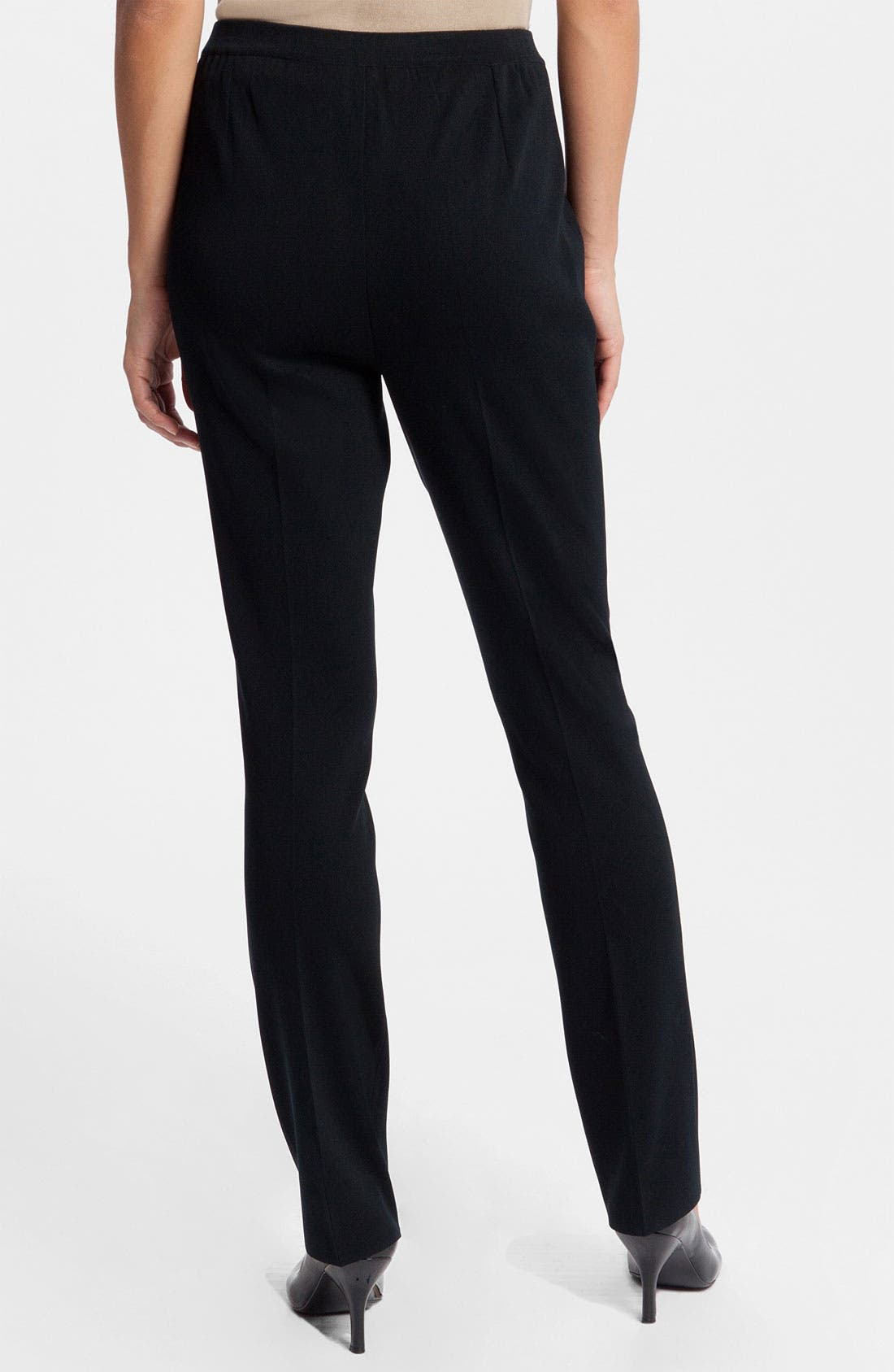 Alternate Image 2  - Ming Wang Slim Leg Pants
