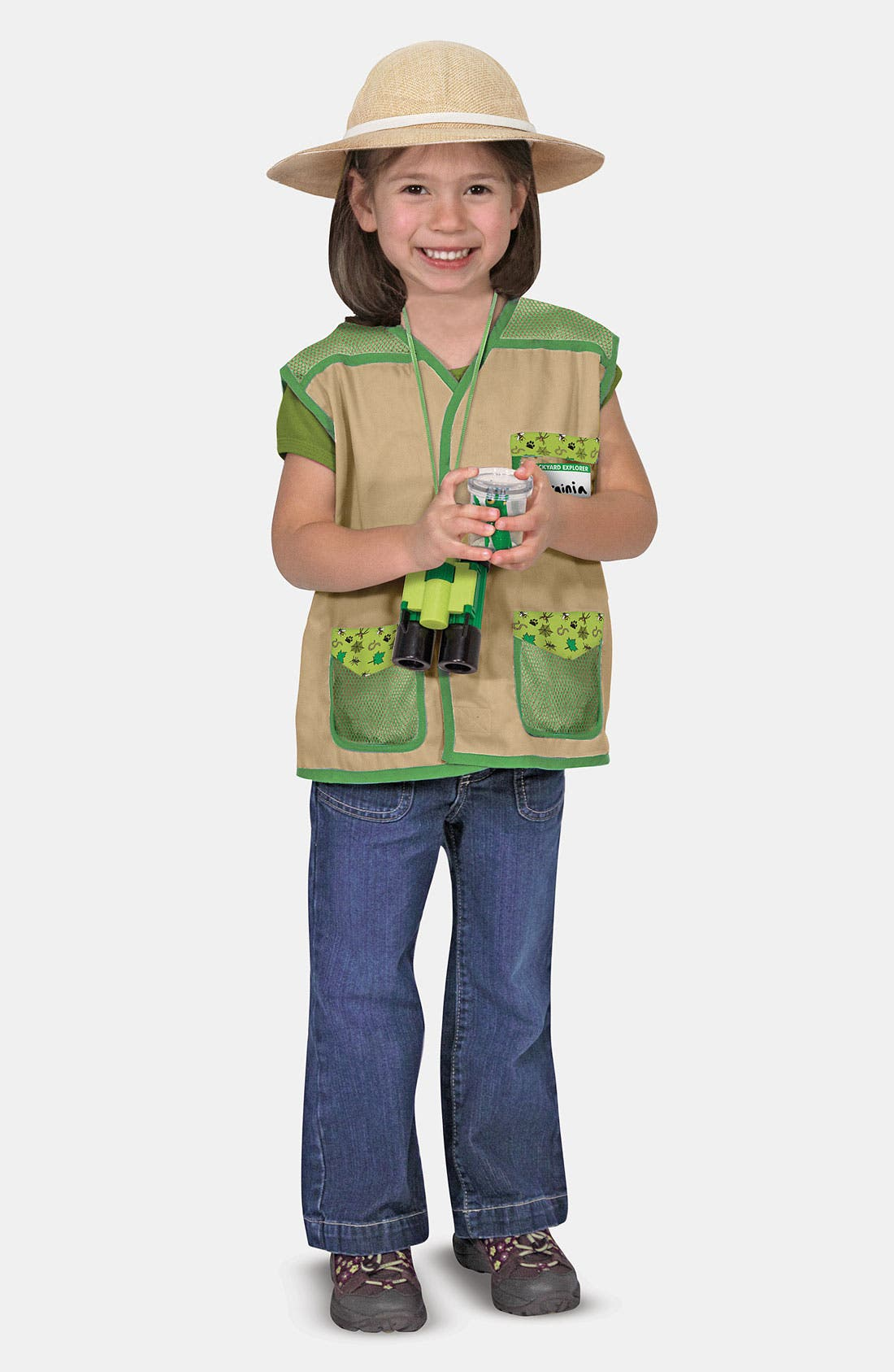 Alternate Image 2  - Melissa & Doug 'Backyard Explorer' Costume (Toddler)