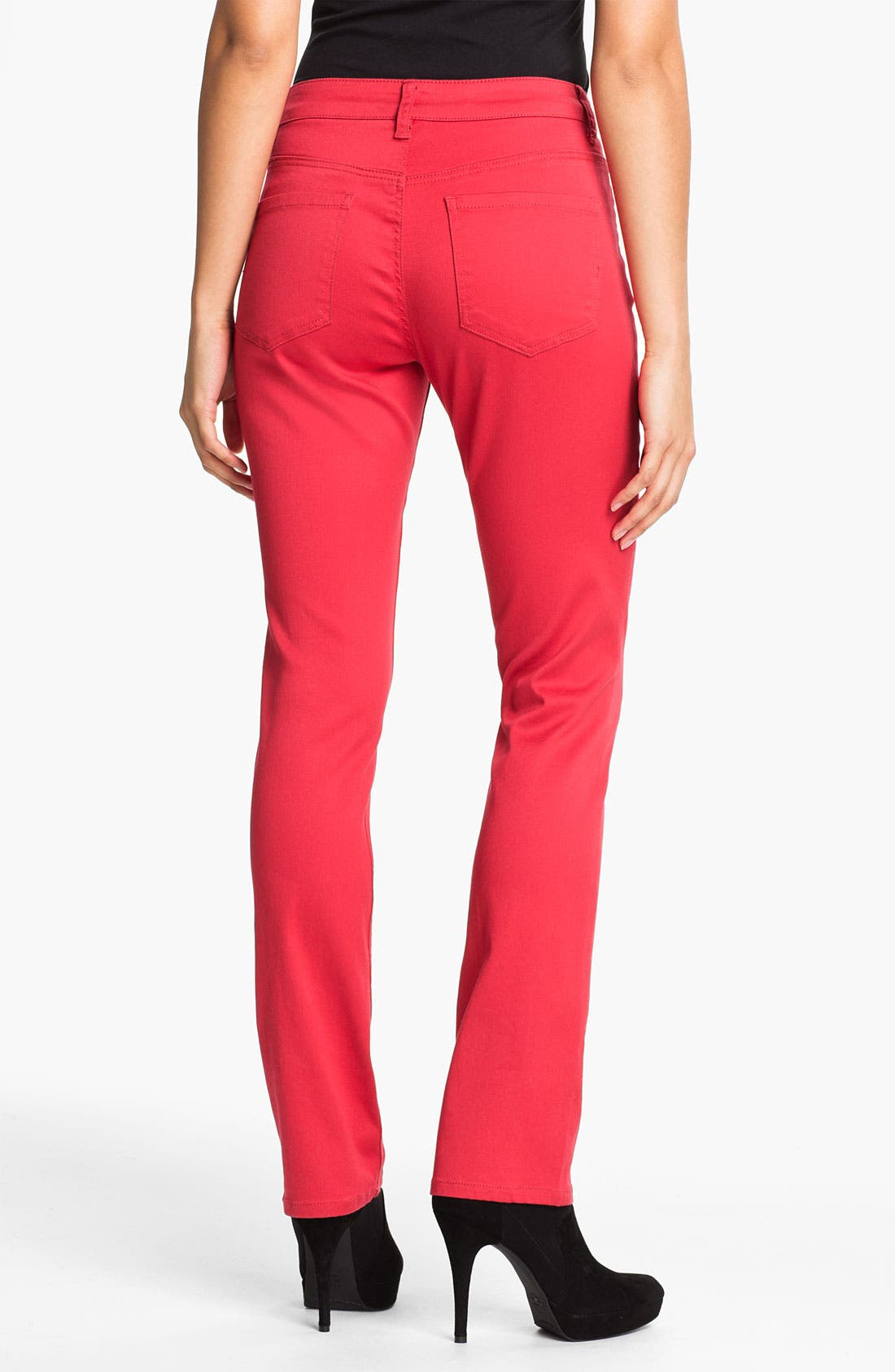 Alternate Image 2  - Liverpool Jeans Company 'Sadie' Colored Straight Leg Stretch Jeans