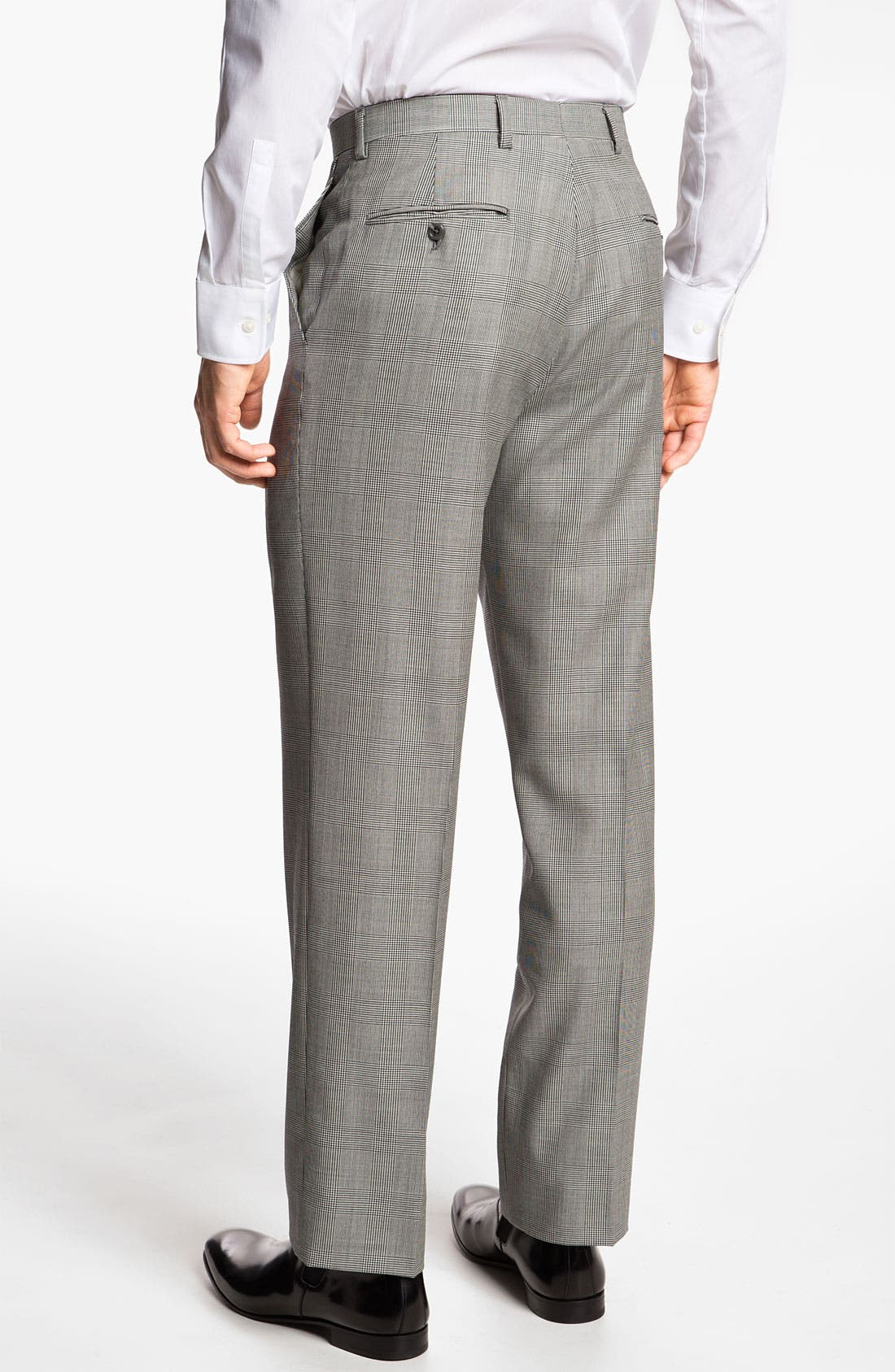 Alternate Image 5  - Hart Schaffner Marx Three Piece Plaid Suit