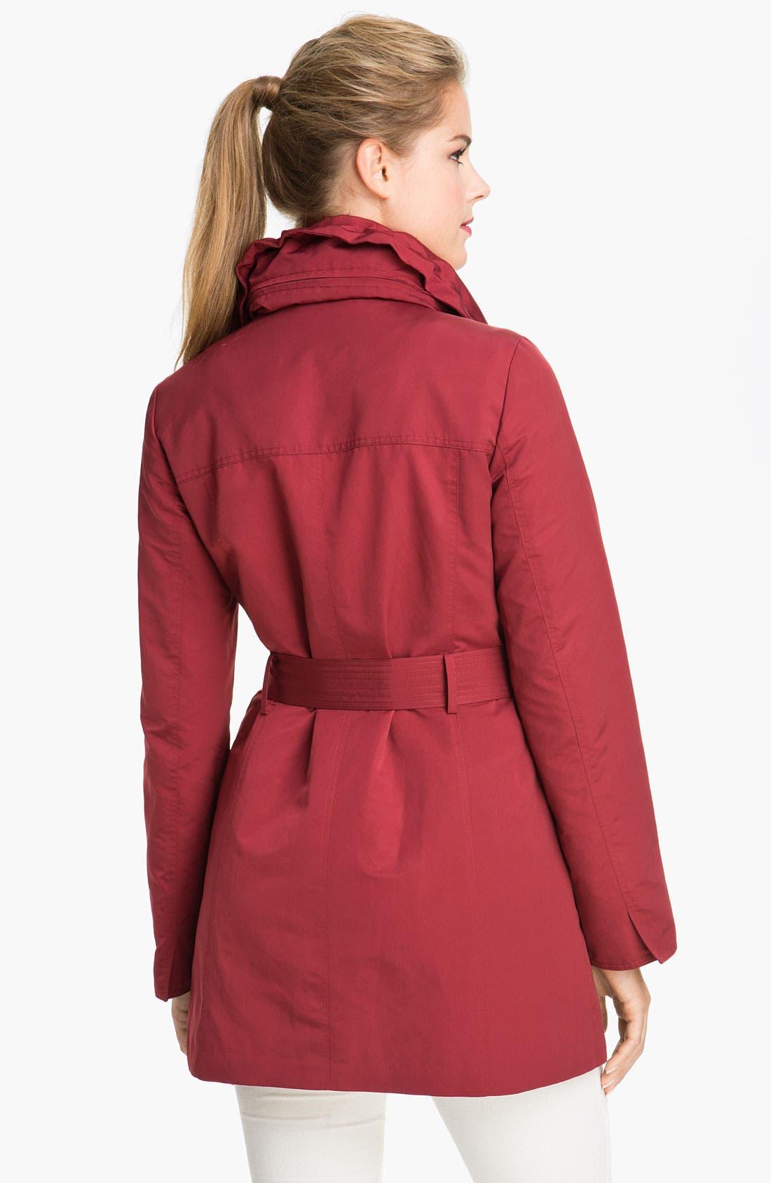 Alternate Image 2  - Ellen Tracy Trench Coat with Detachable Liner (Online Exclusive)