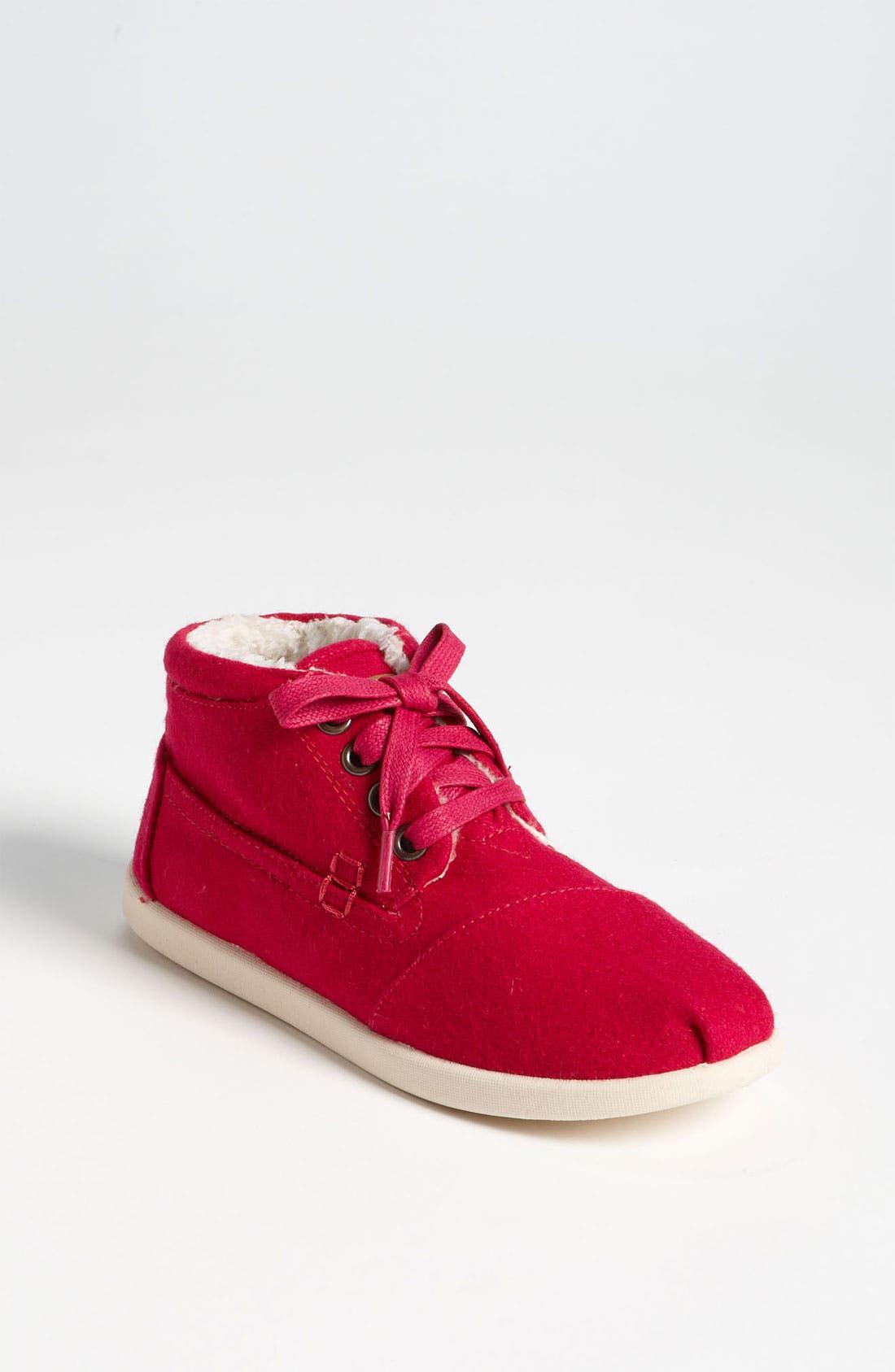 Alternate Image 1 Selected - TOMS 'Botas - Youth' Wool Boot (Toddler, Little Kid & Big Kid)