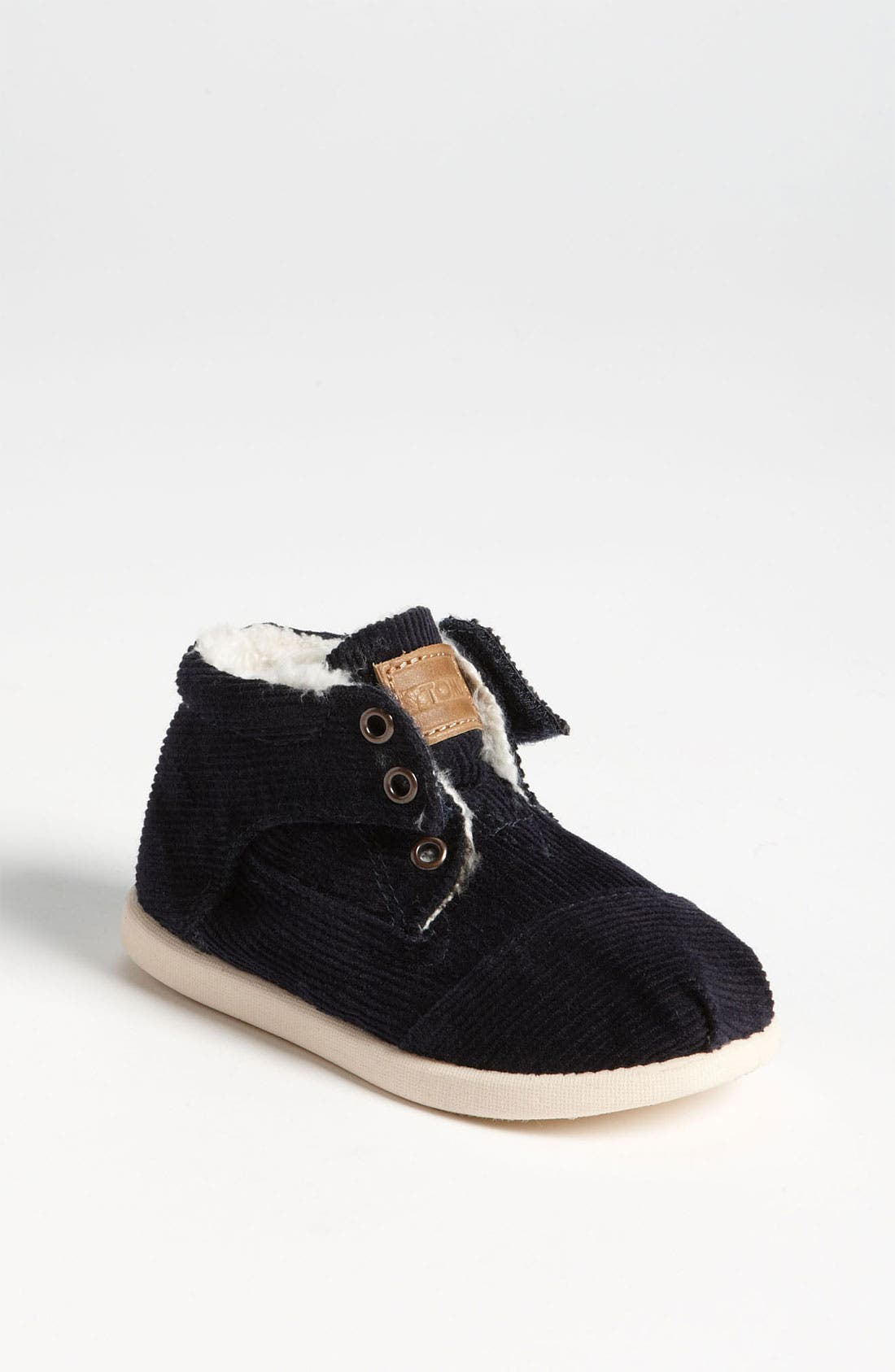 Alternate Image 1 Selected - TOMS 'Botas - Tiny' Corduroy Boot (Baby, Walker & Toddler)