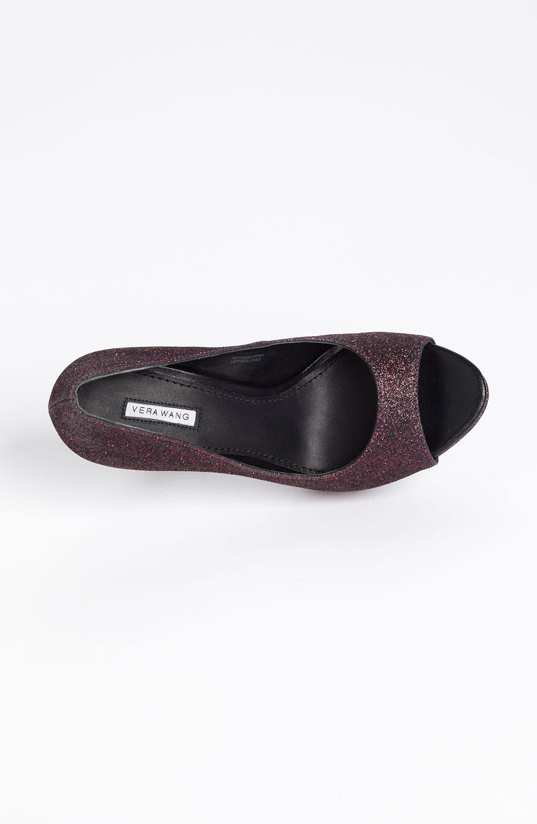 Alternate Image 3  - Vera Wang Footwear 'Selima' Peep Toe Pump (Nordstrom Exclusive Color)