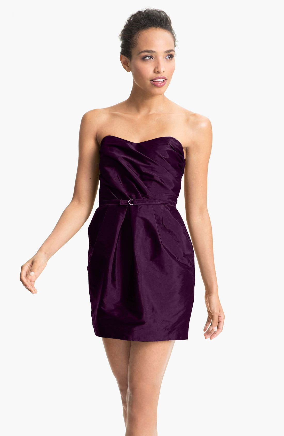 Alternate Image 1 Selected - Alexia Admor Strapless Taffeta Tulip Dress