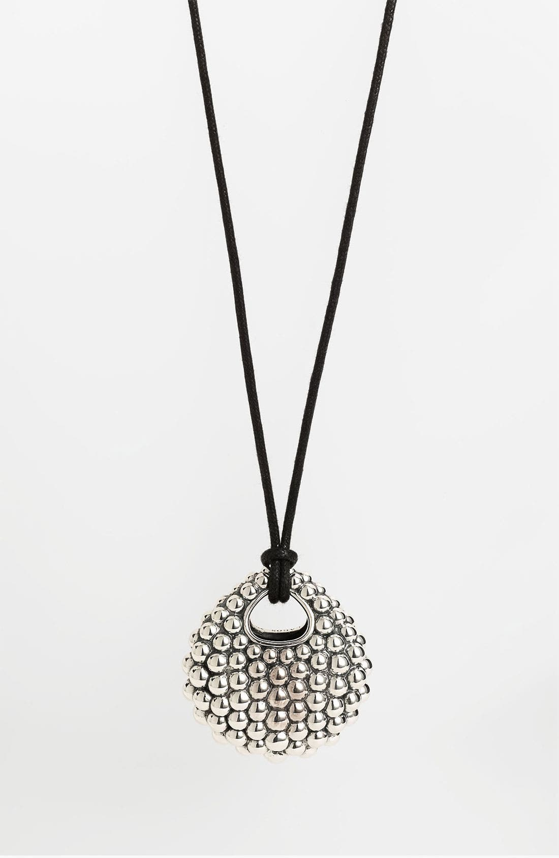 Alternate Image 2  - LAGOS 'Bold' Caviar Long Pendant Necklace