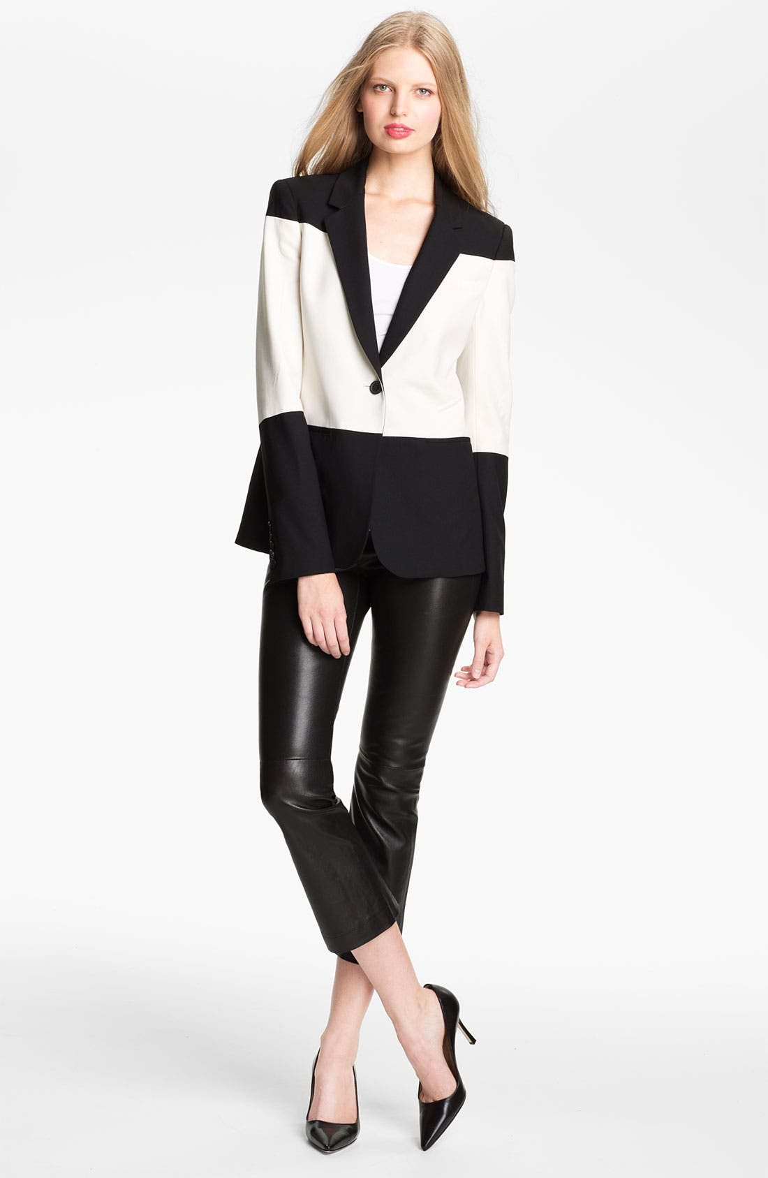 Alternate Image 1 Selected - Elizabeth and James 'Rex' Colorblock Blazer
