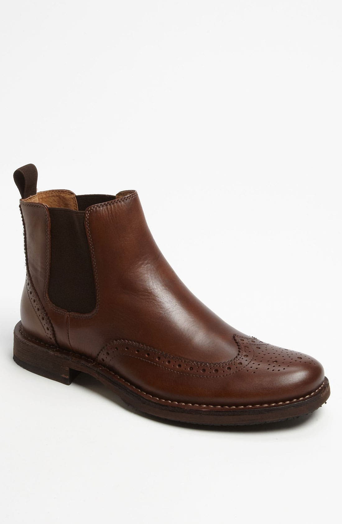 Main Image - Florsheim 'Cobblestone' Wingtip Chelsea Boot (Online Only)