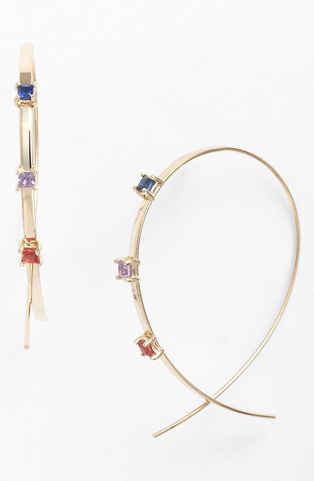 Main Image - Lana Jewelry 'Small Ombré Upside Down' Hoop Earrings
