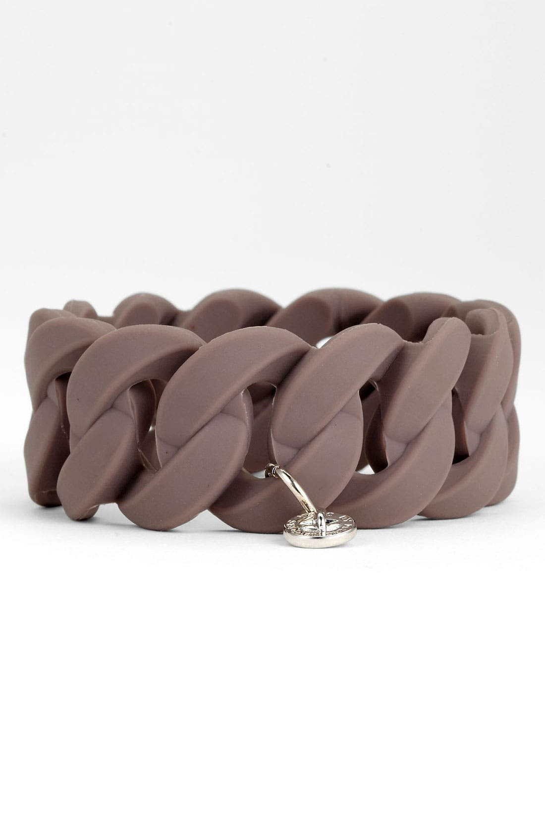 Alternate Image 1 Selected - MARC BY MARC JACOBS 'Rubber Turnlock - Katie' Stretch Bracelet