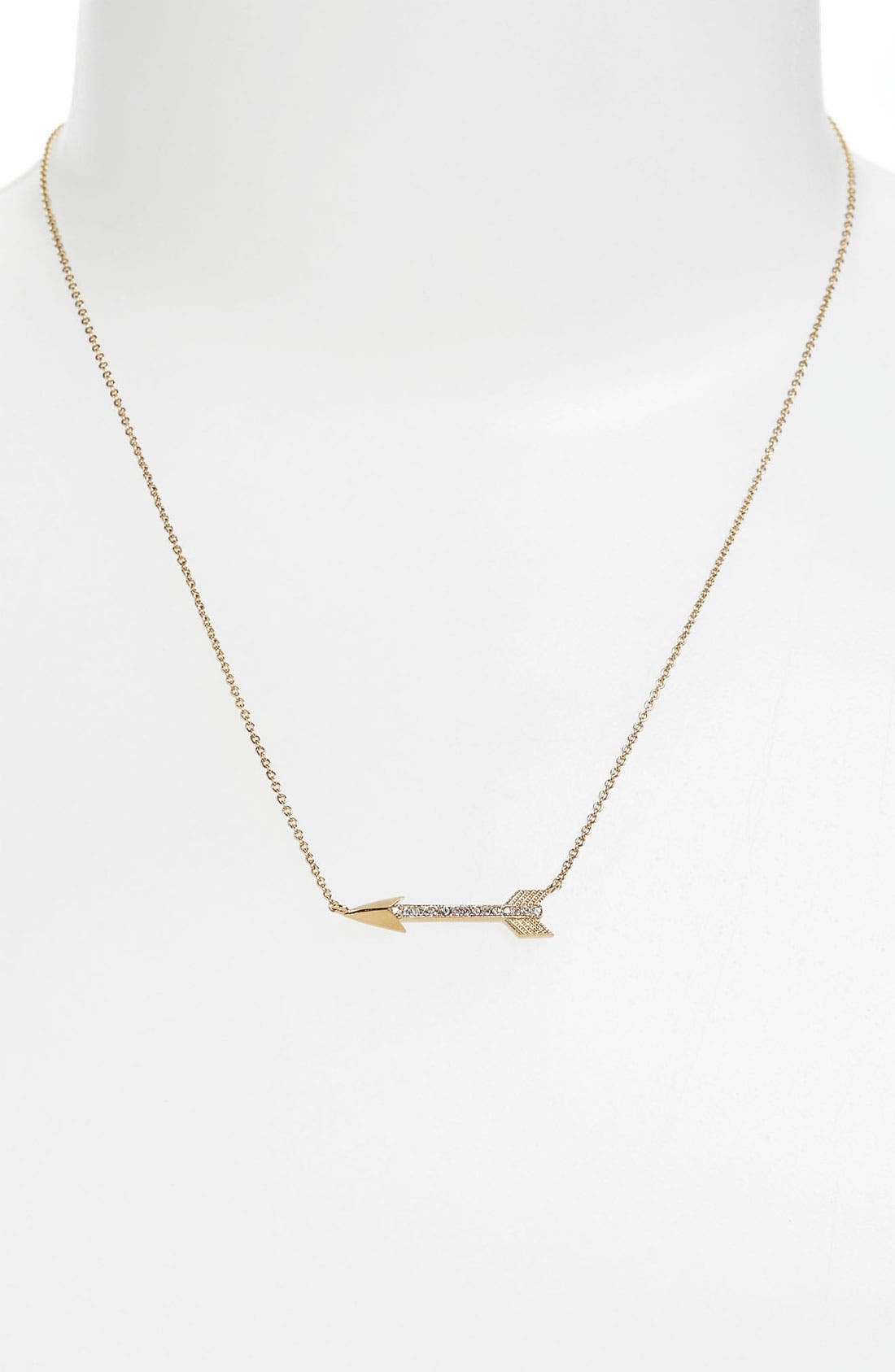 Alternate Image 2  - Nadri Boxed Arrow Pendant Necklace (Nordstrom Exclusive)