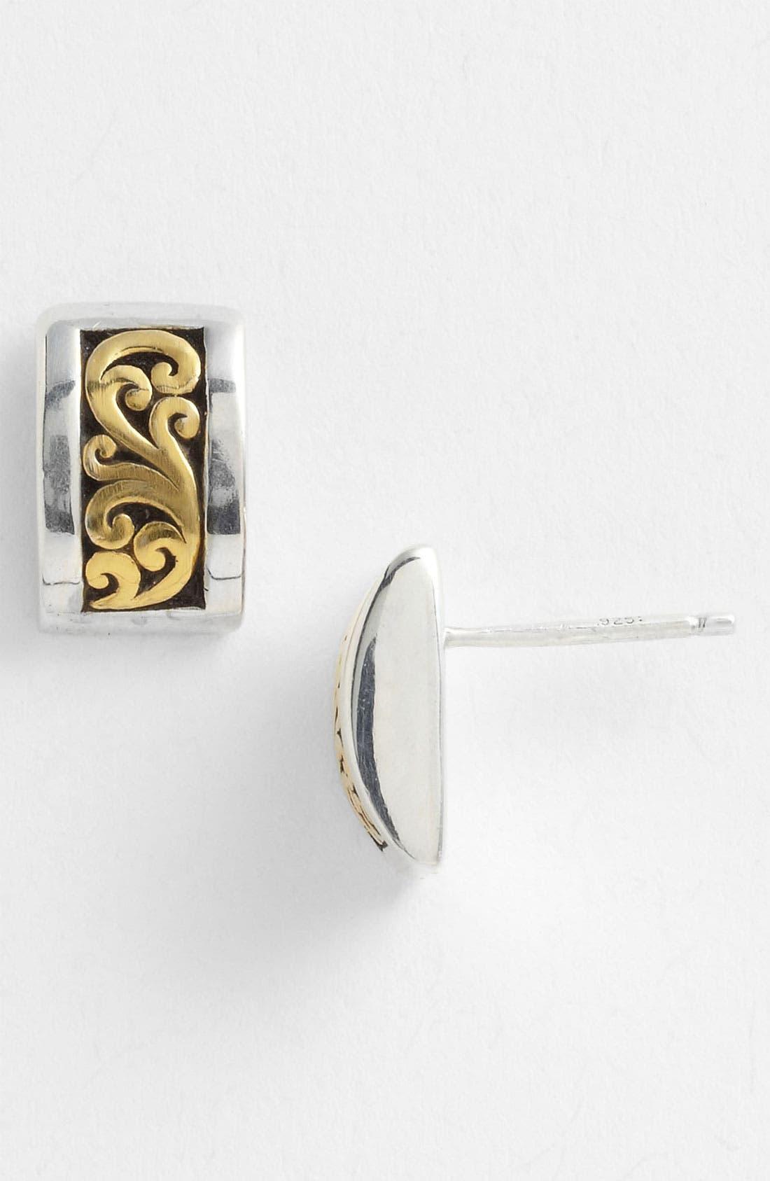 Alternate Image 1 Selected - Lois Hill 'Marquise' Rectangular Stud Earrings