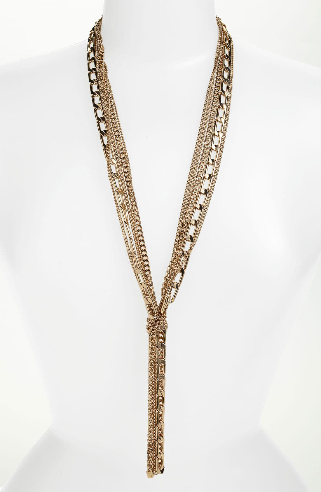 Alternate Image 1 Selected - Vince Camuto Multistrand Y-Necklace