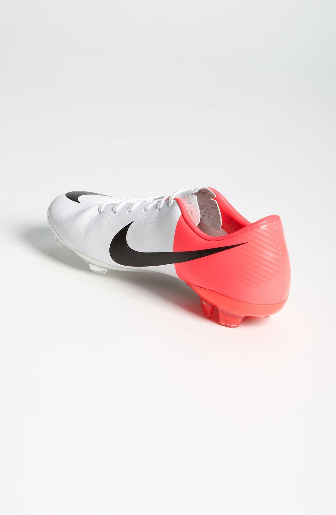 Alternate Image 2  - Nike 'Mercurial Vapor VIII' Soccer Shoe (Little Kid & Big Kid)