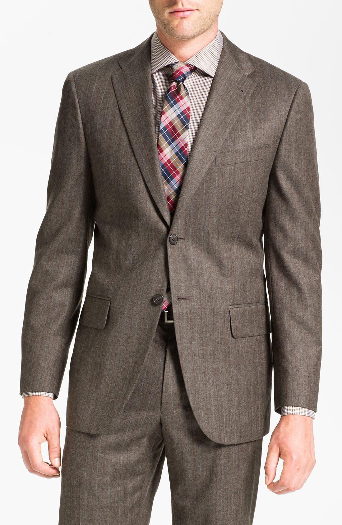 Main Image - Joseph Abboud 'Profile' Stripe Wool Suit