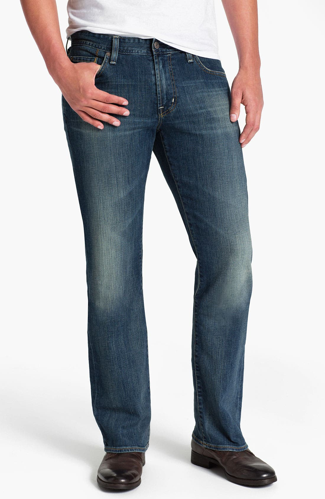 Alternate Image 1 Selected - AG Jeans 'Regent' Bootcut Jeans (Abbott)