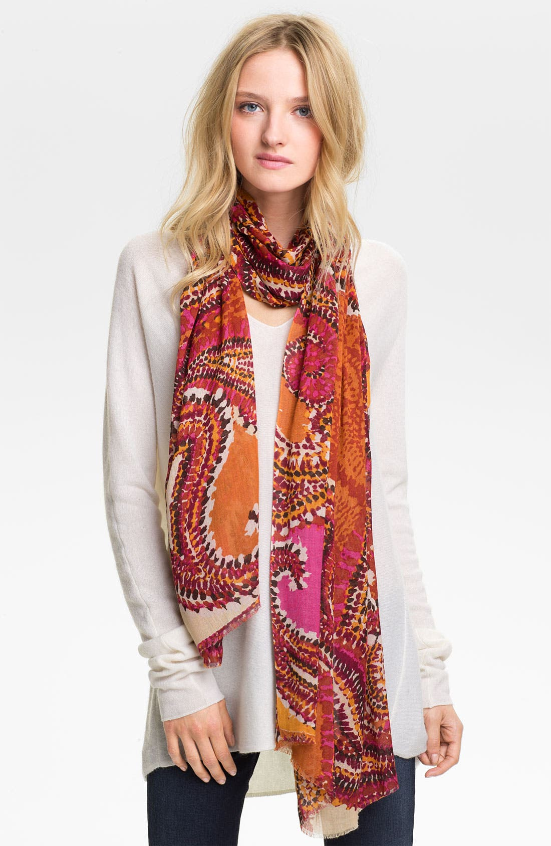 Main Image - Collection XIIX 'Tribal Paisley' Scarf