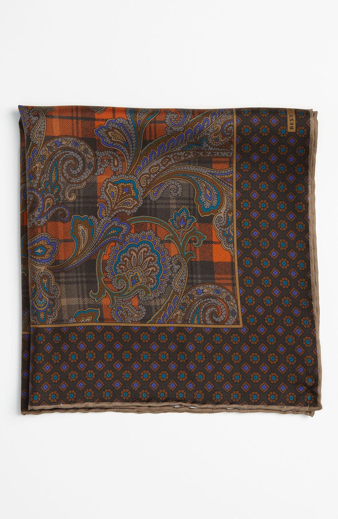 Main Image - Robert Talbott Silk Pocket Square