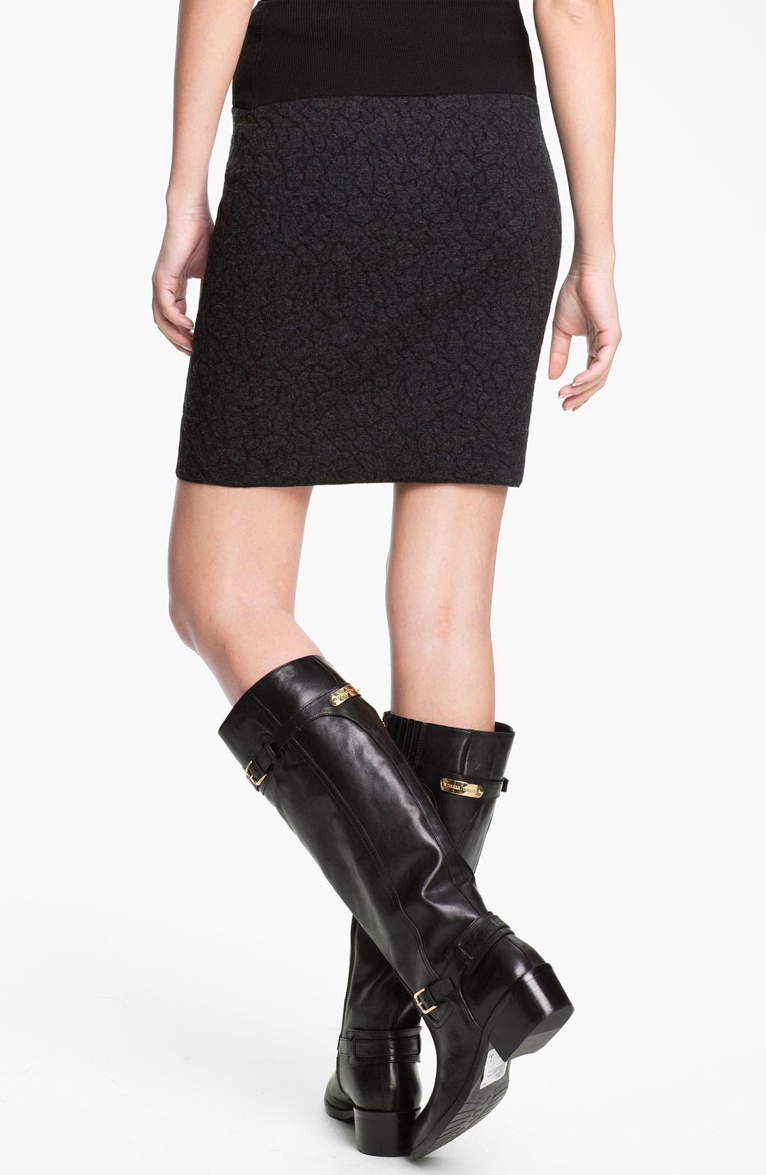 Alternate Image 2  - Eileen Fisher Short Pull-On Skirt