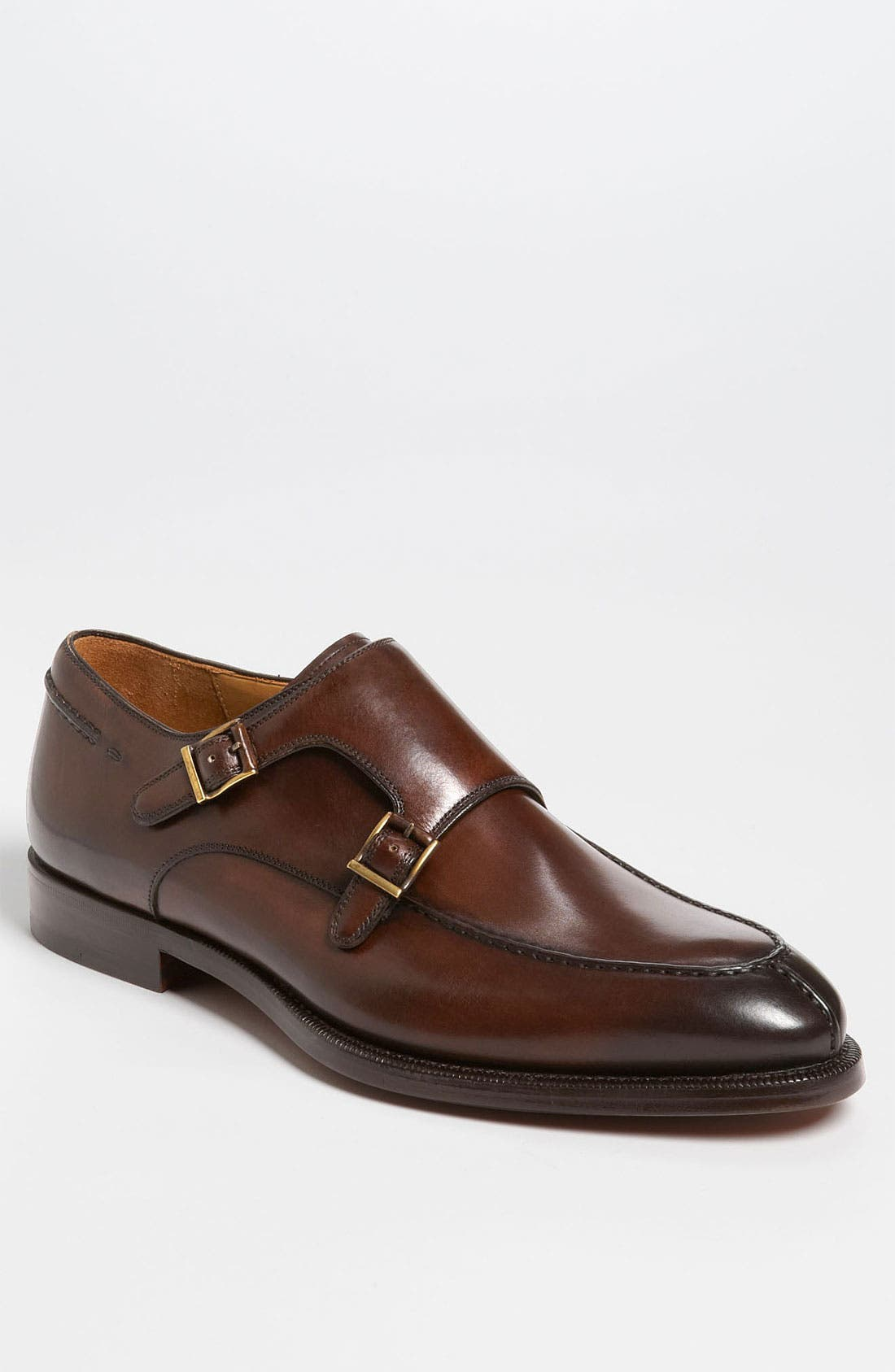 Alternate Image 1 Selected - Magnanni 'Turia' Double Monk Strap Slip-On