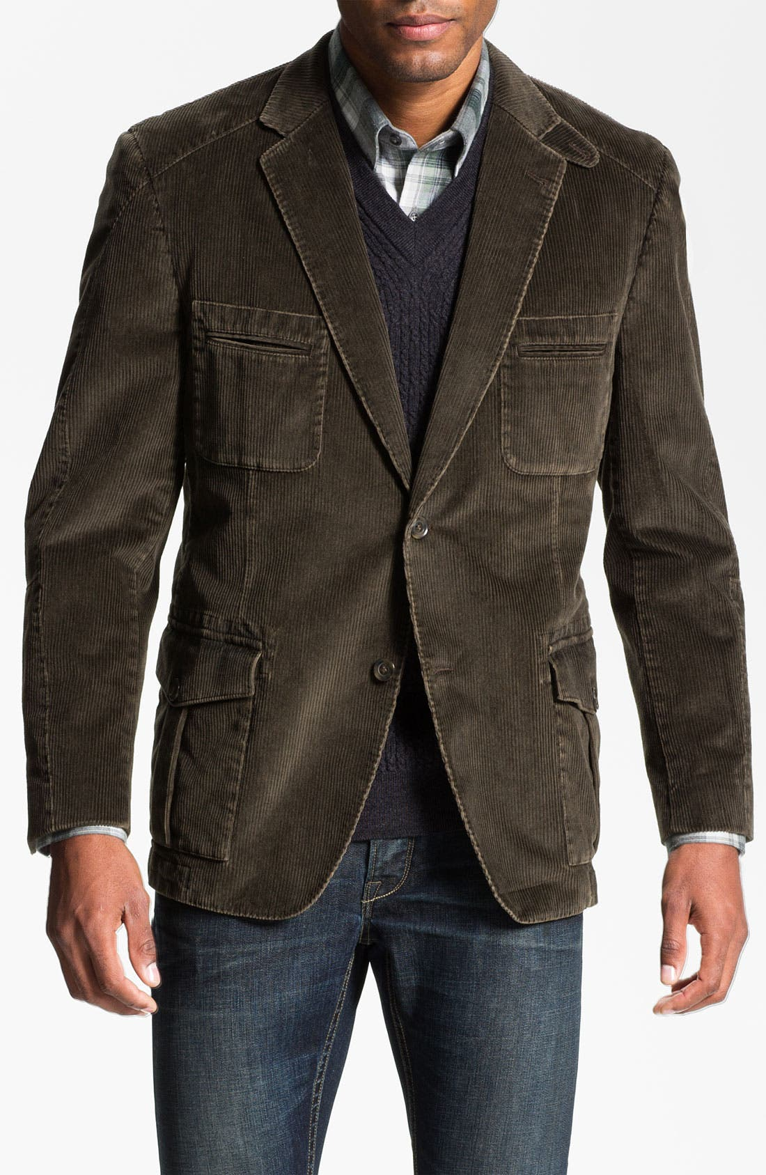 Alternate Image 1 Selected - Kroon 'Matthews' Washed Corduroy Sportcoat