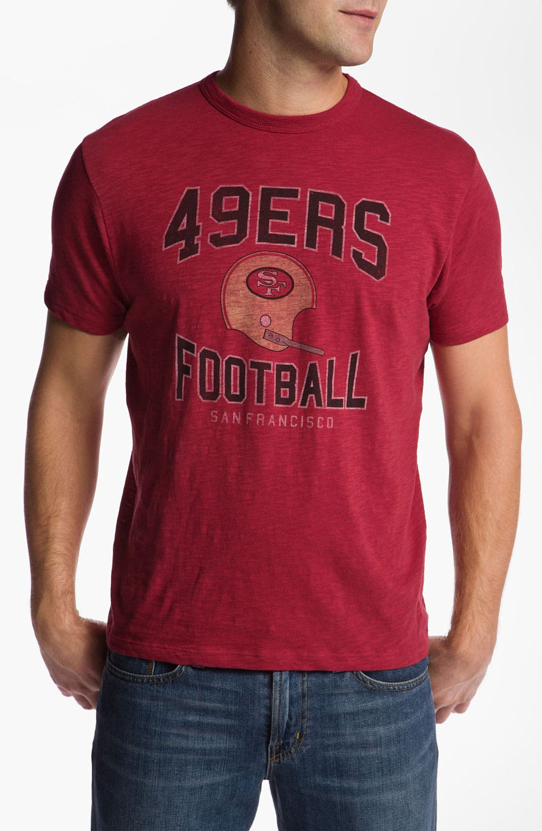 Alternate Image 1 Selected - 47 Brand 'San Francisco 49ers - Scrum' T-Shirt