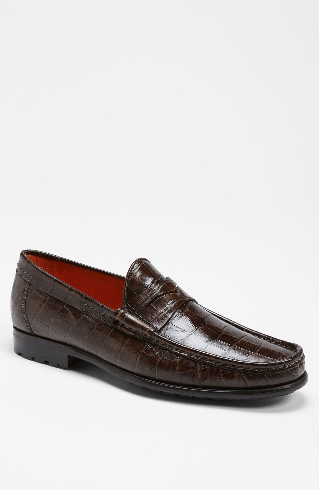 Alternate Image 1 Selected - Santoni 'Quint' Penny Loafer