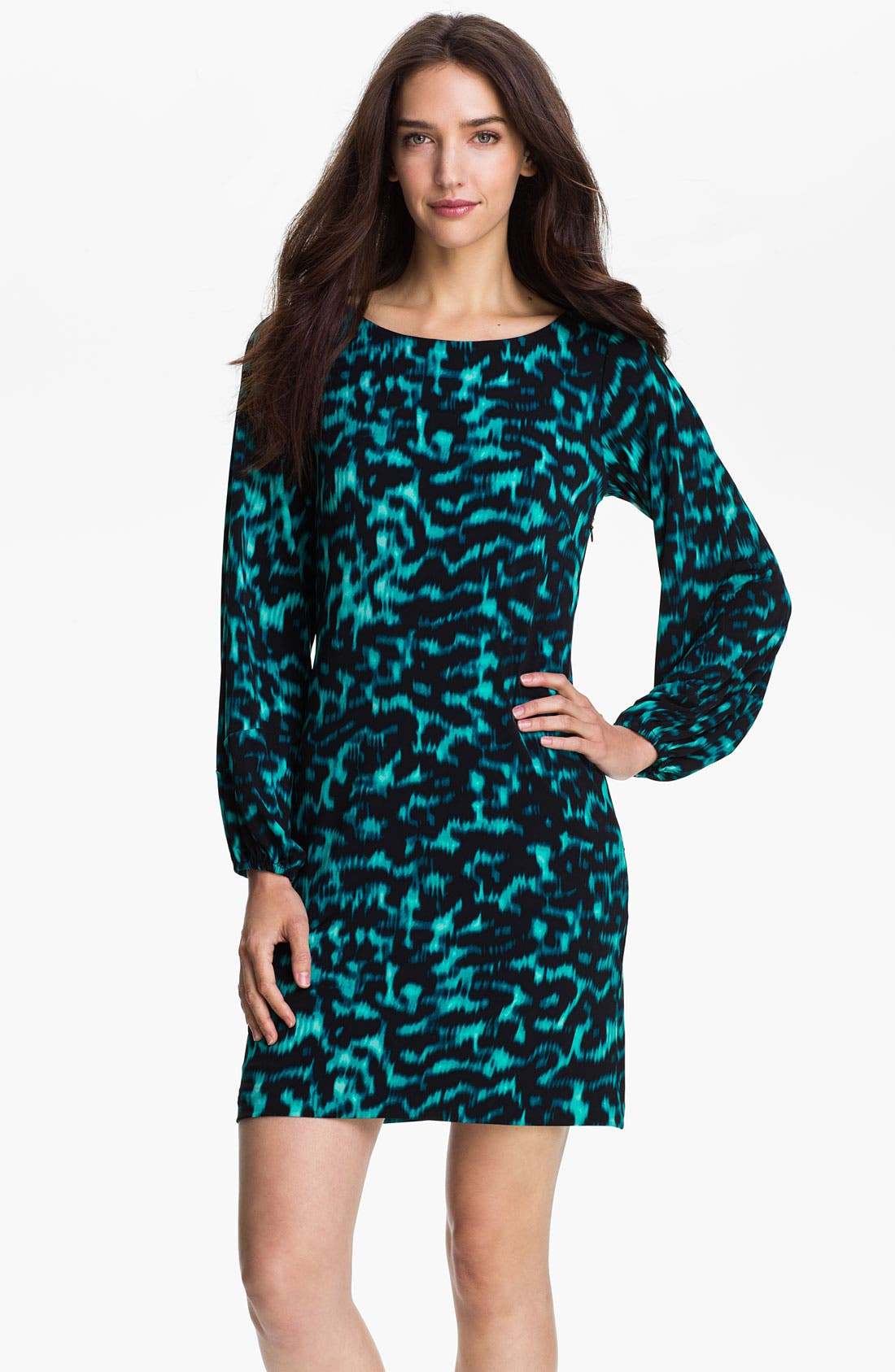 Alternate Image 1 Selected - Vince Camuto Animal Print Dress